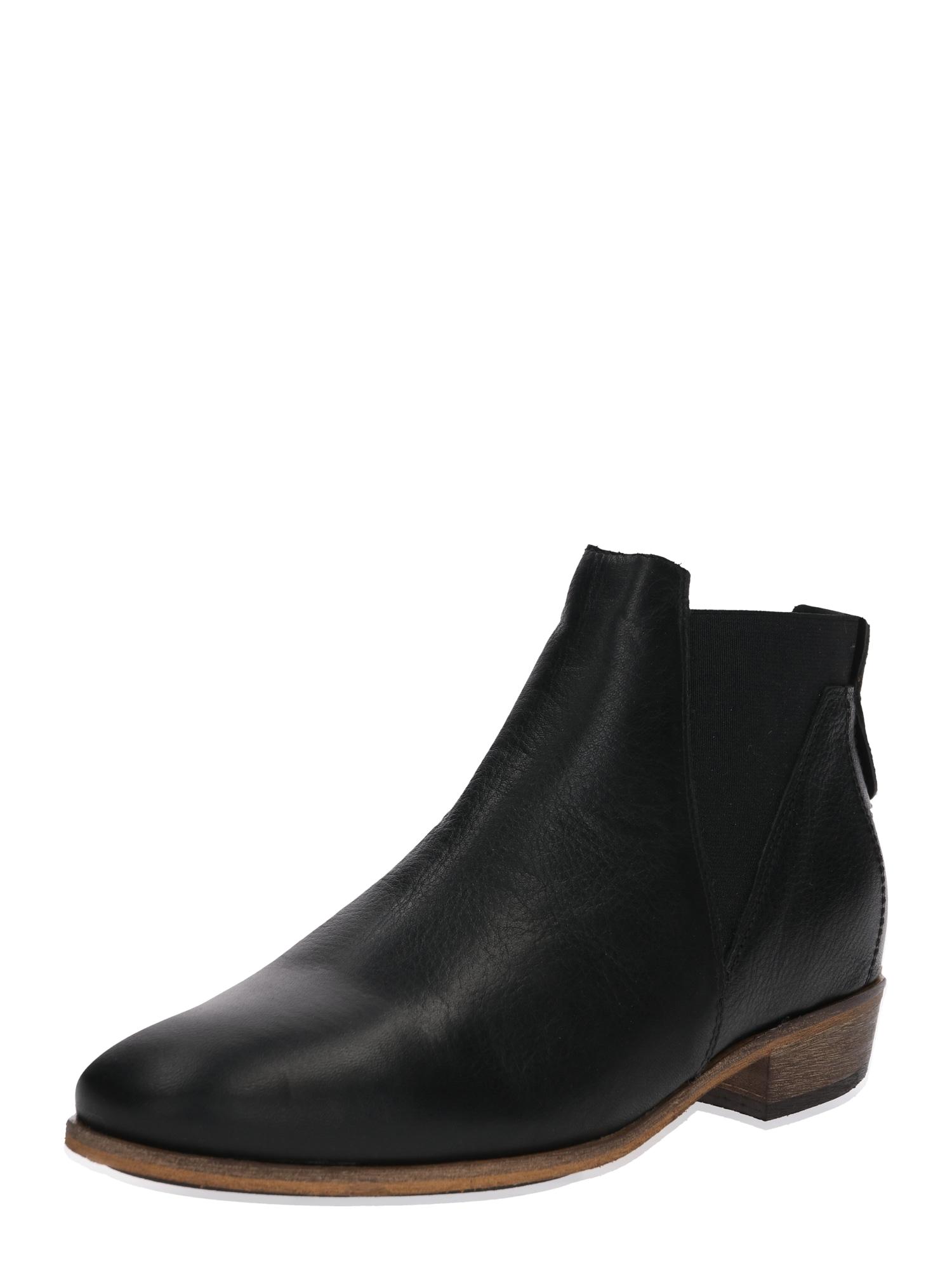 Chelsea boty Kim černá HUB