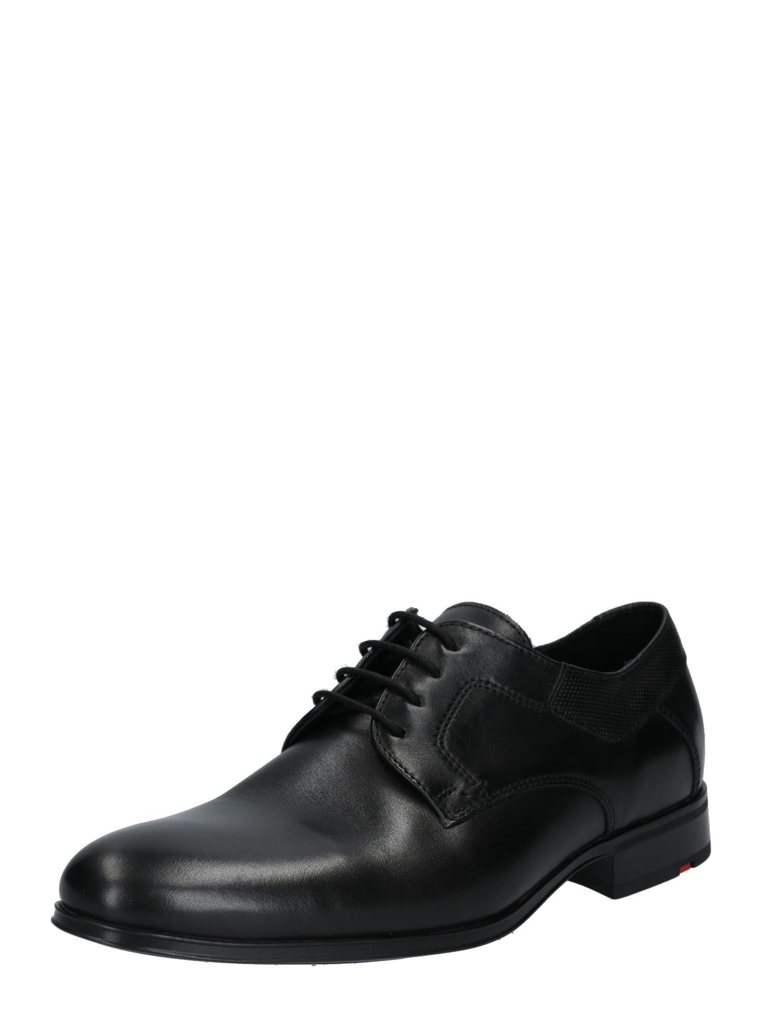 Šněrovací boty LADOR černá LLOYD