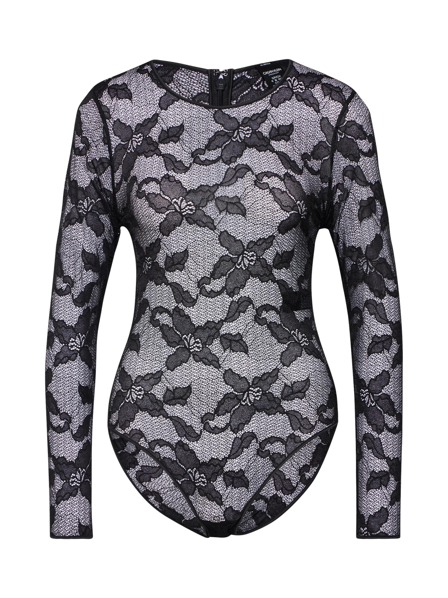 Body černá Calvin Klein Underwear