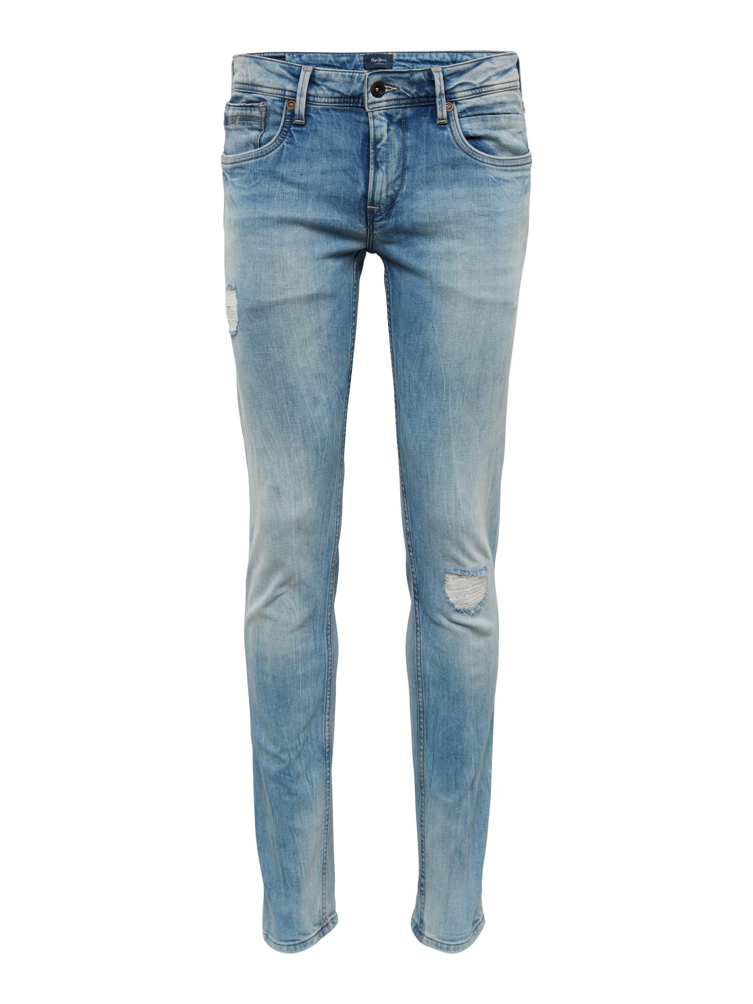 Džíny Hatch Sharp modrá džínovina Pepe Jeans