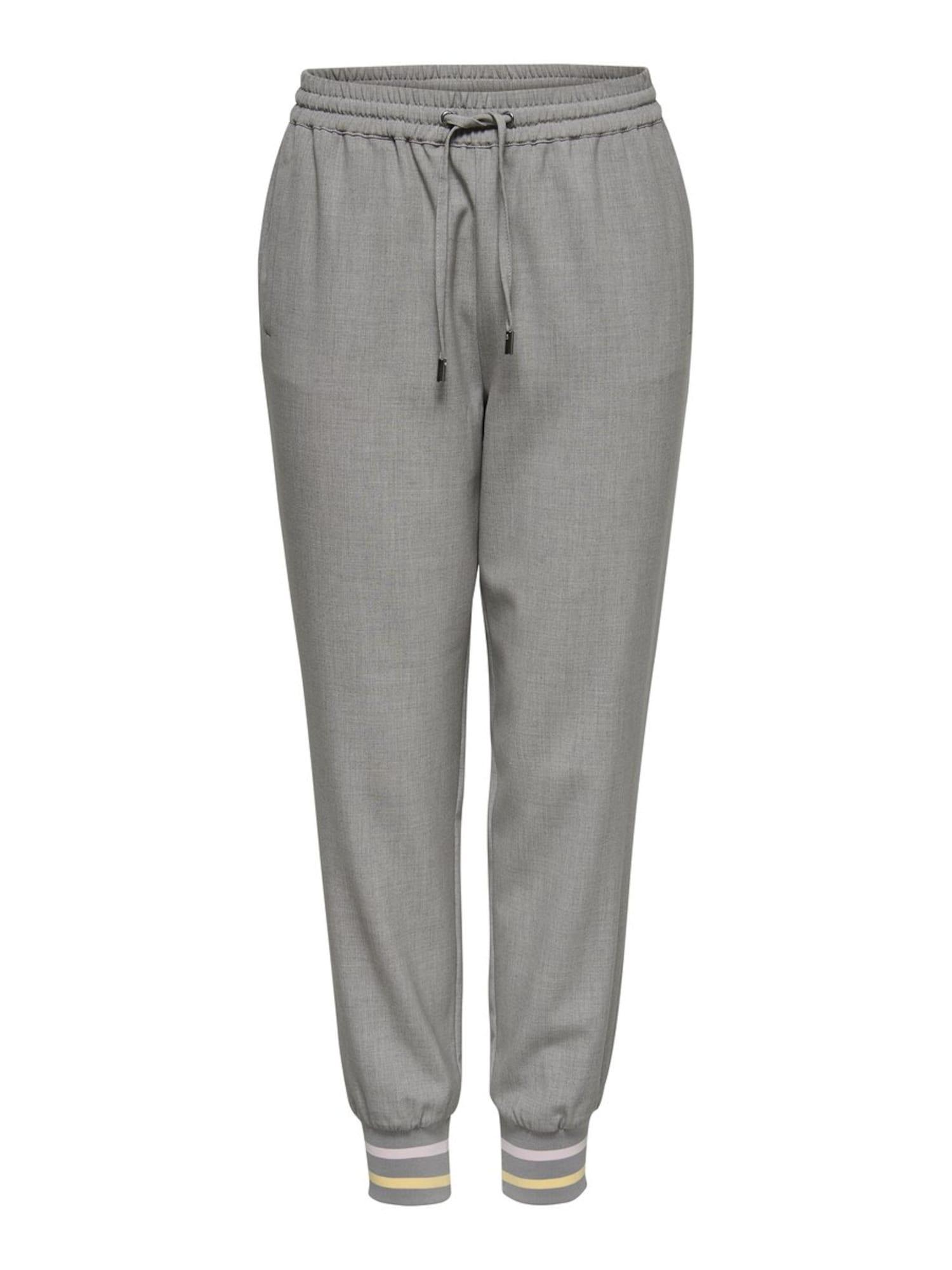 Kalhoty Olivia Marilla šedý melír ONLY