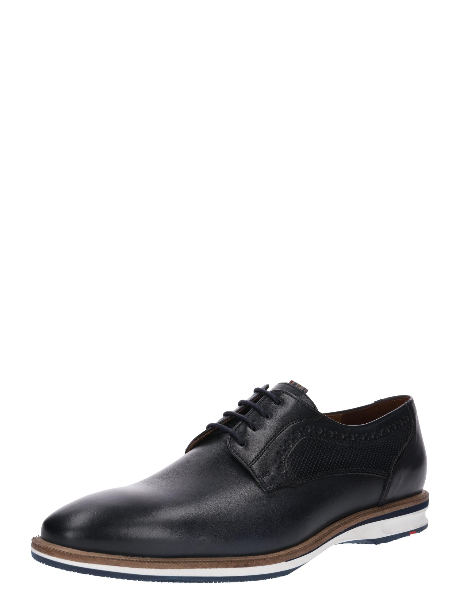 Šněrovací boty noční modrá LLOYD