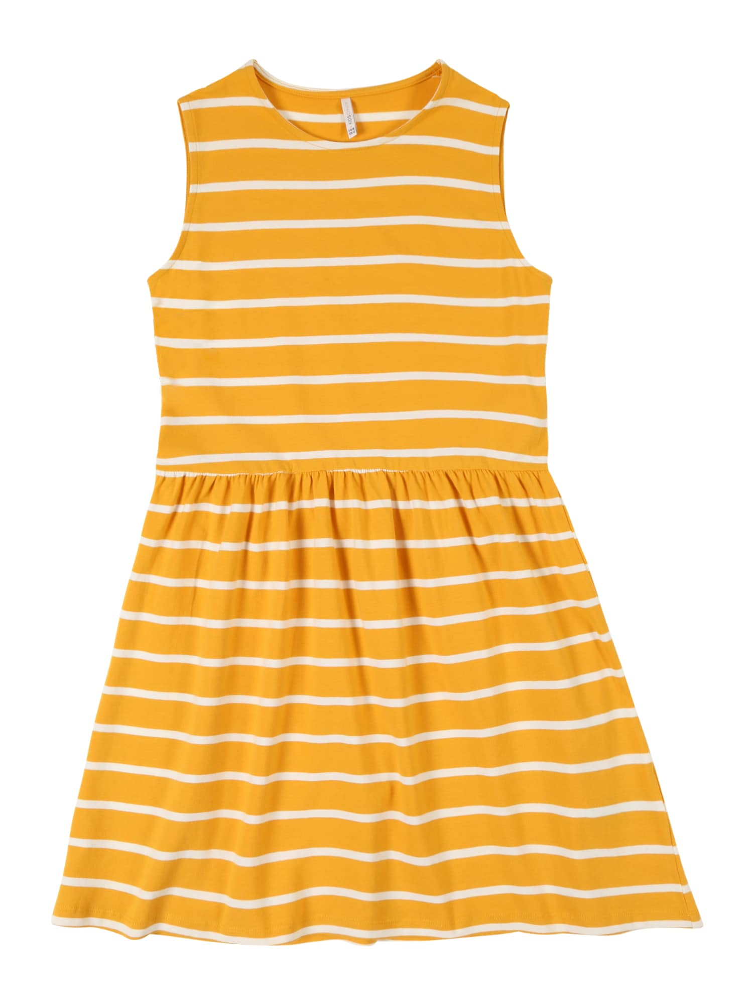Šaty NIELLA tmavě žlutá bílá KIDS ONLY