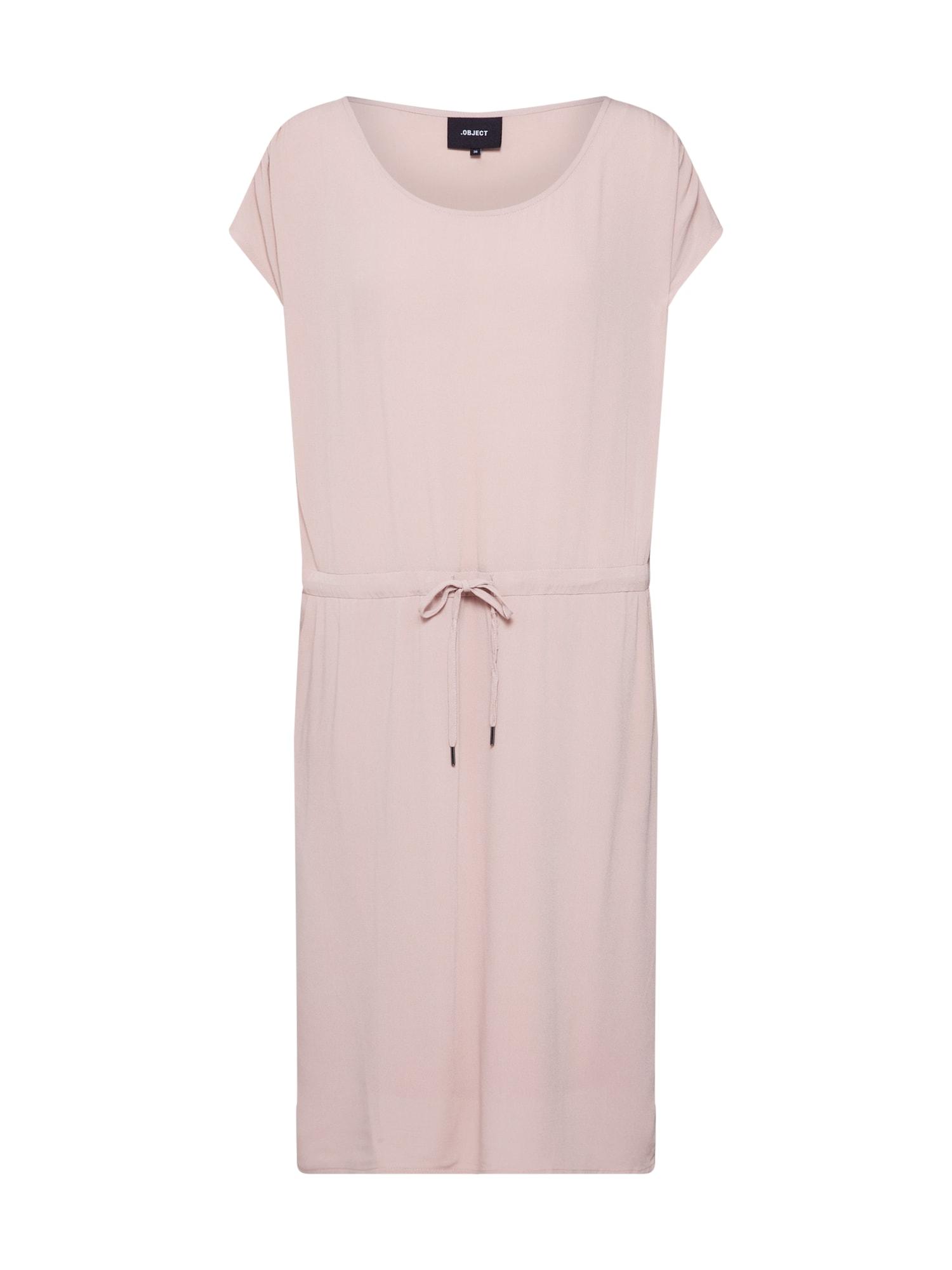 Letní šaty OBJBAY DALLAS růžová OBJECT