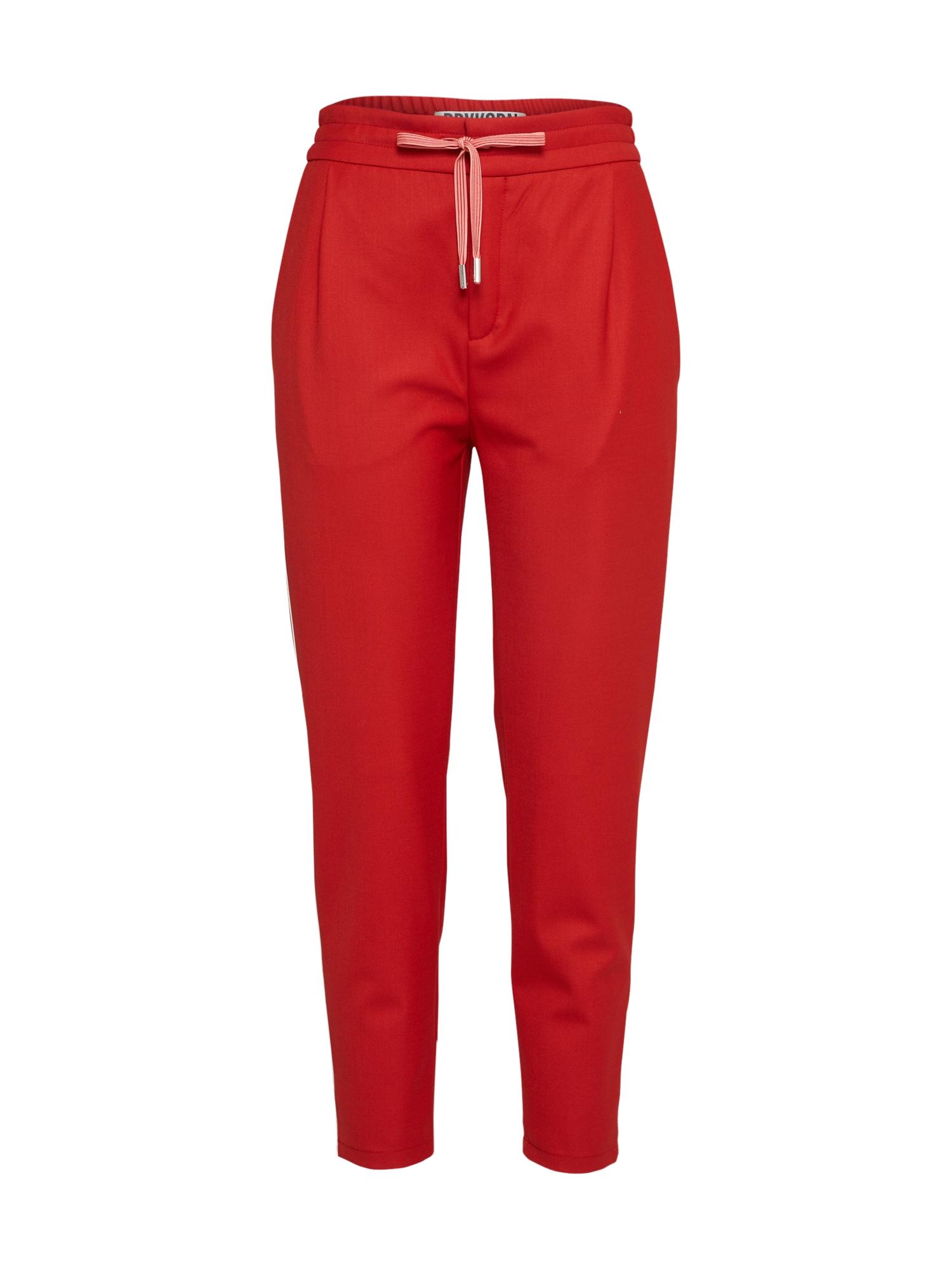 Kalhoty Level červená DRYKORN