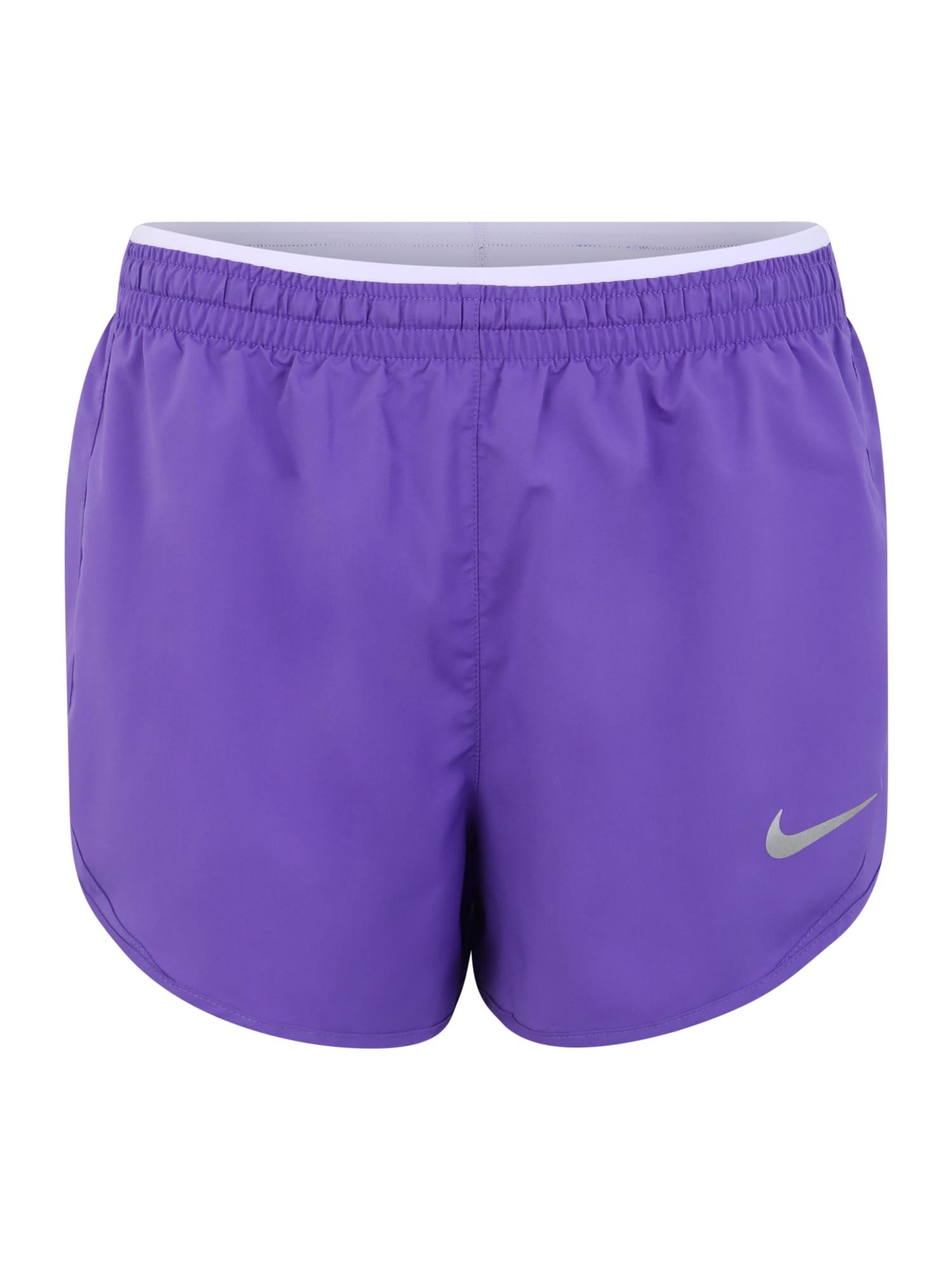 Sportovní kalhoty fialová NIKE