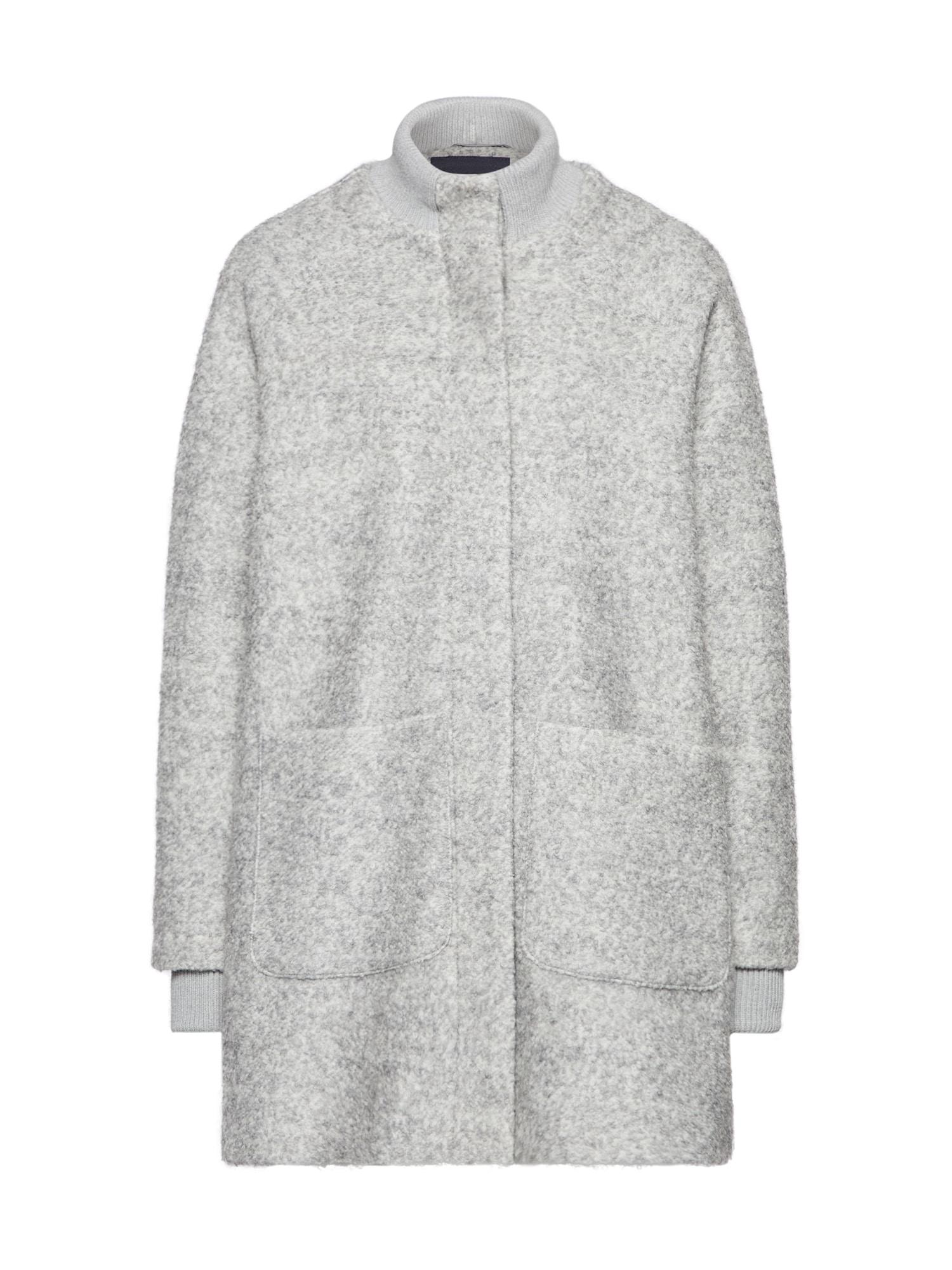 Přechodný kabát Gailey světle šedá BROADWAY NYC FASHION