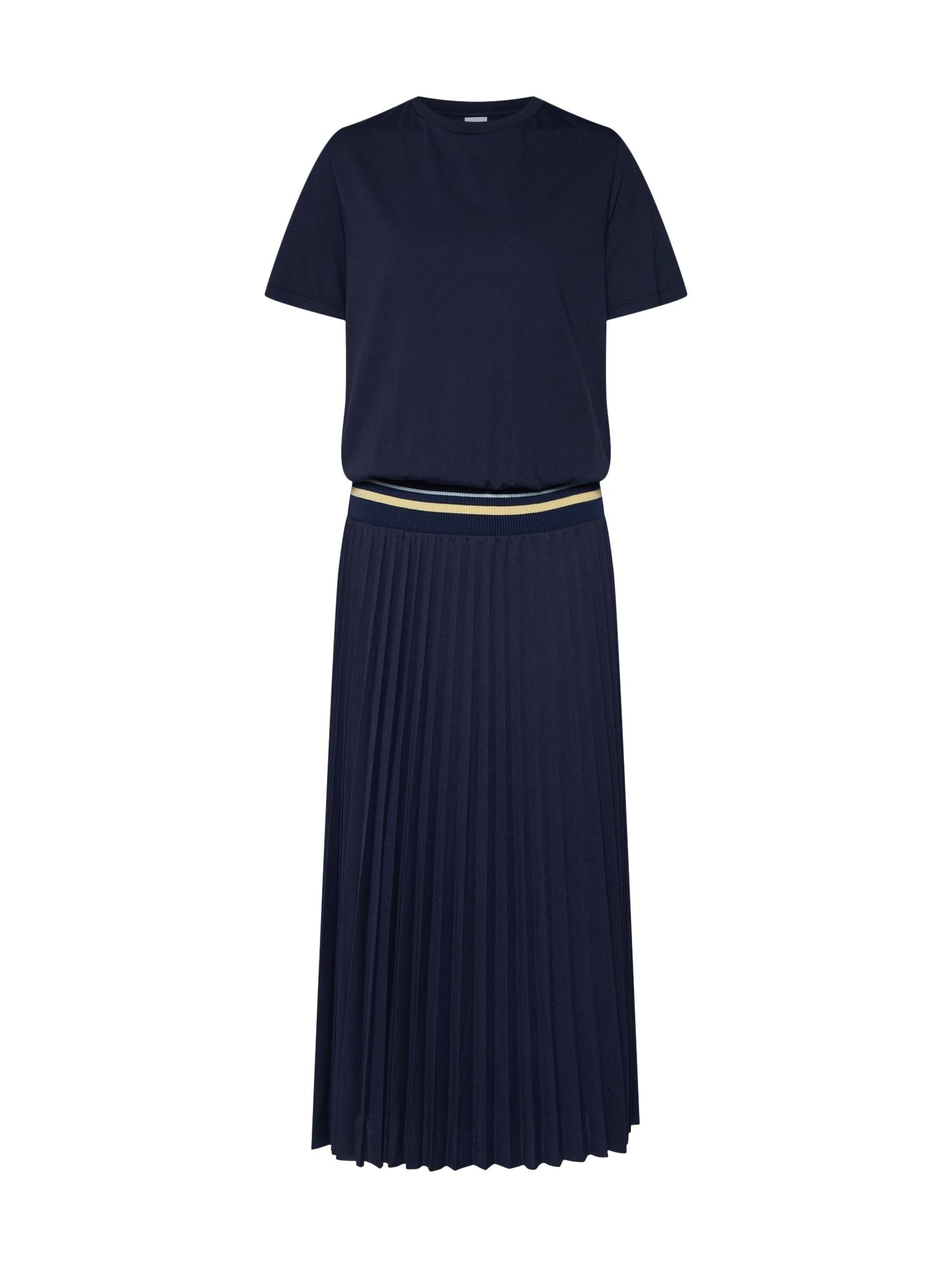 Šaty Daplis modrá BOSS