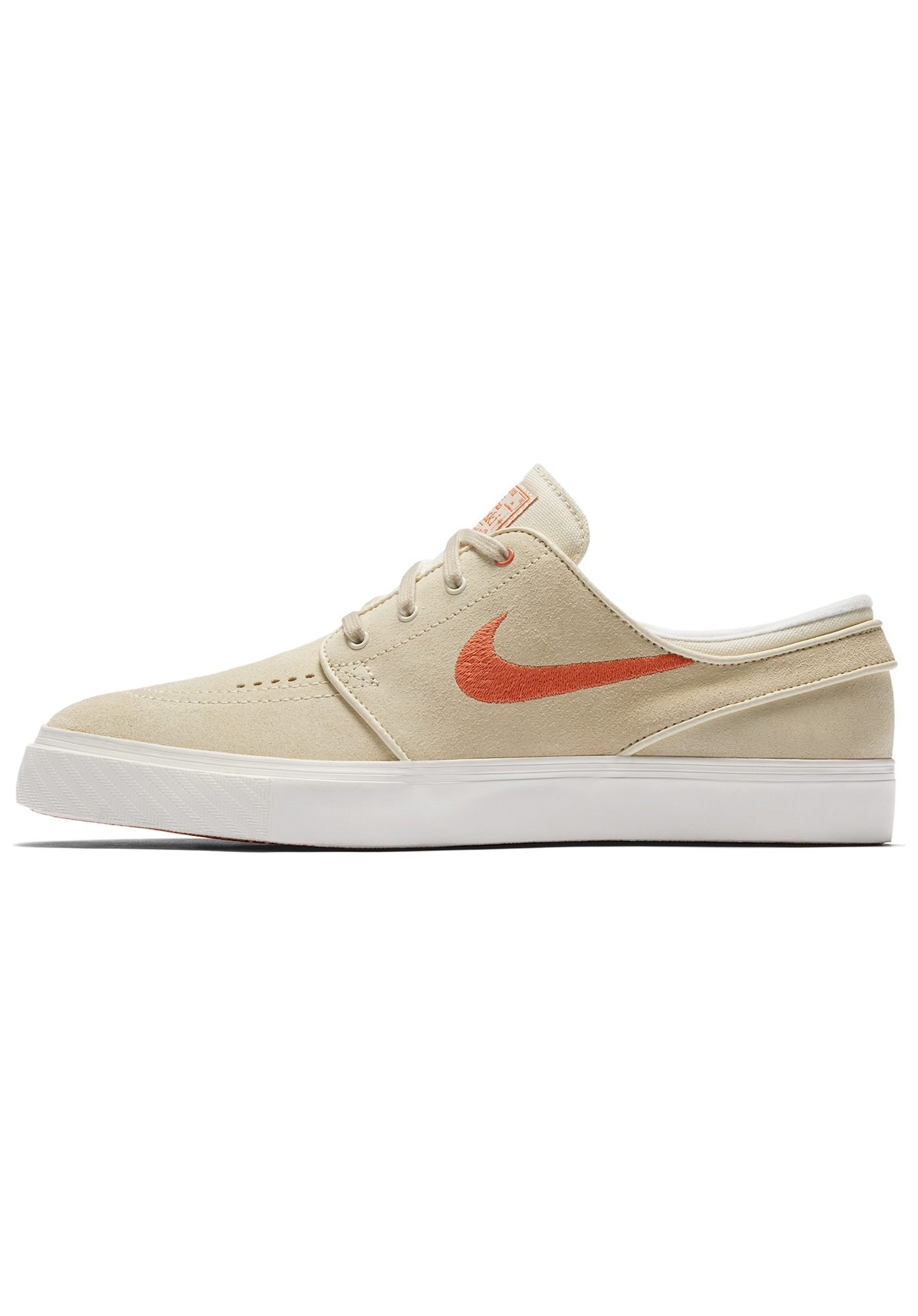 Nike SB, Heren Sneakers laag 'Zoom Stefan Janoski', beige / donkeroranje