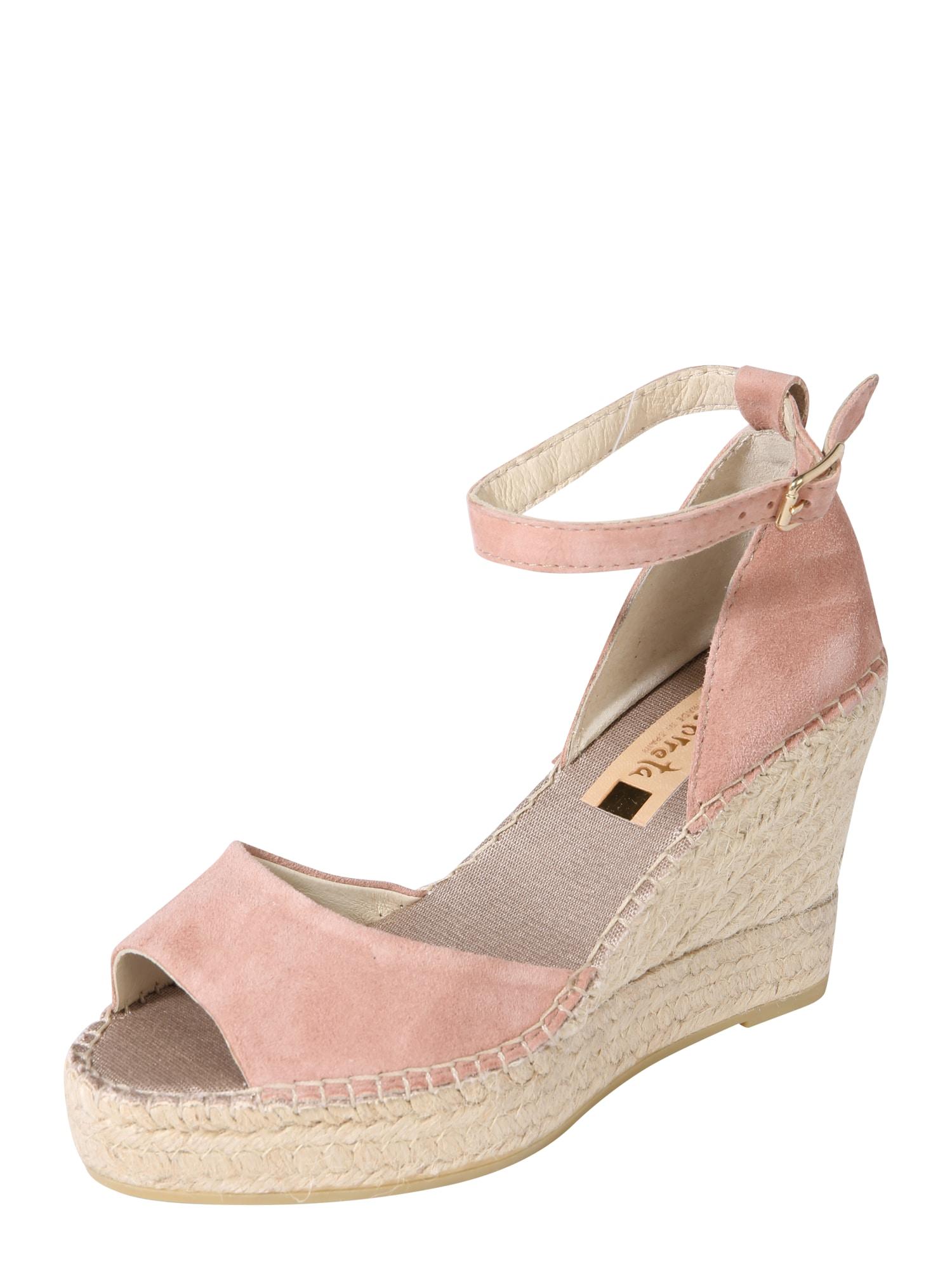 Sandály růžová Vidorreta
