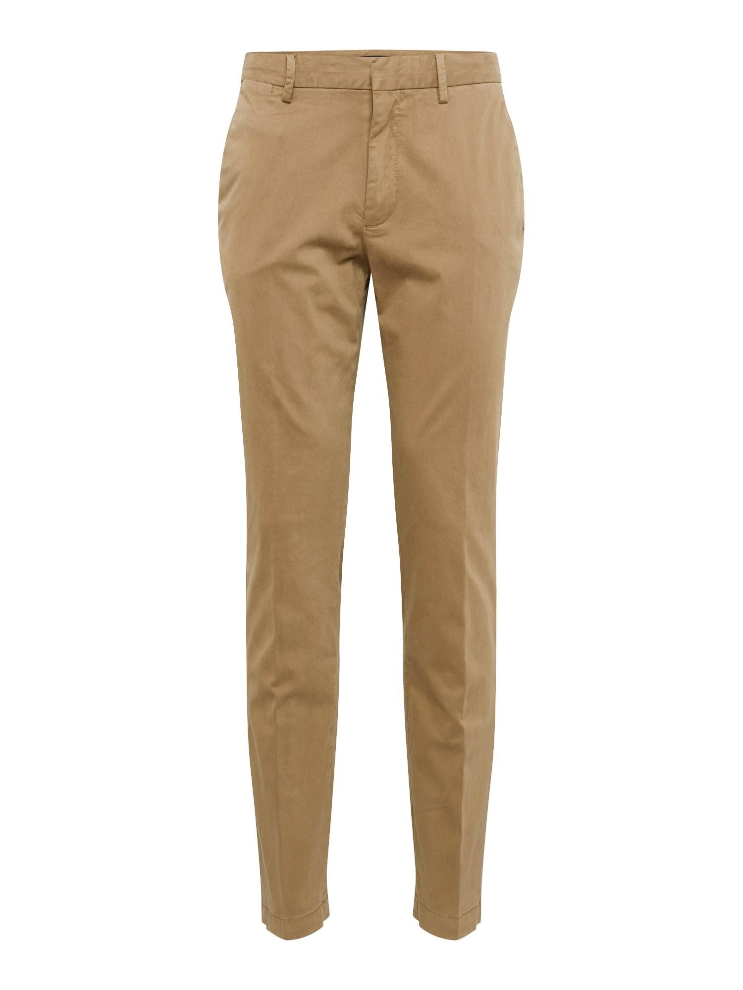 Chino kalhoty SLIM AUTHENTIC tmavě béžová Banana Republic