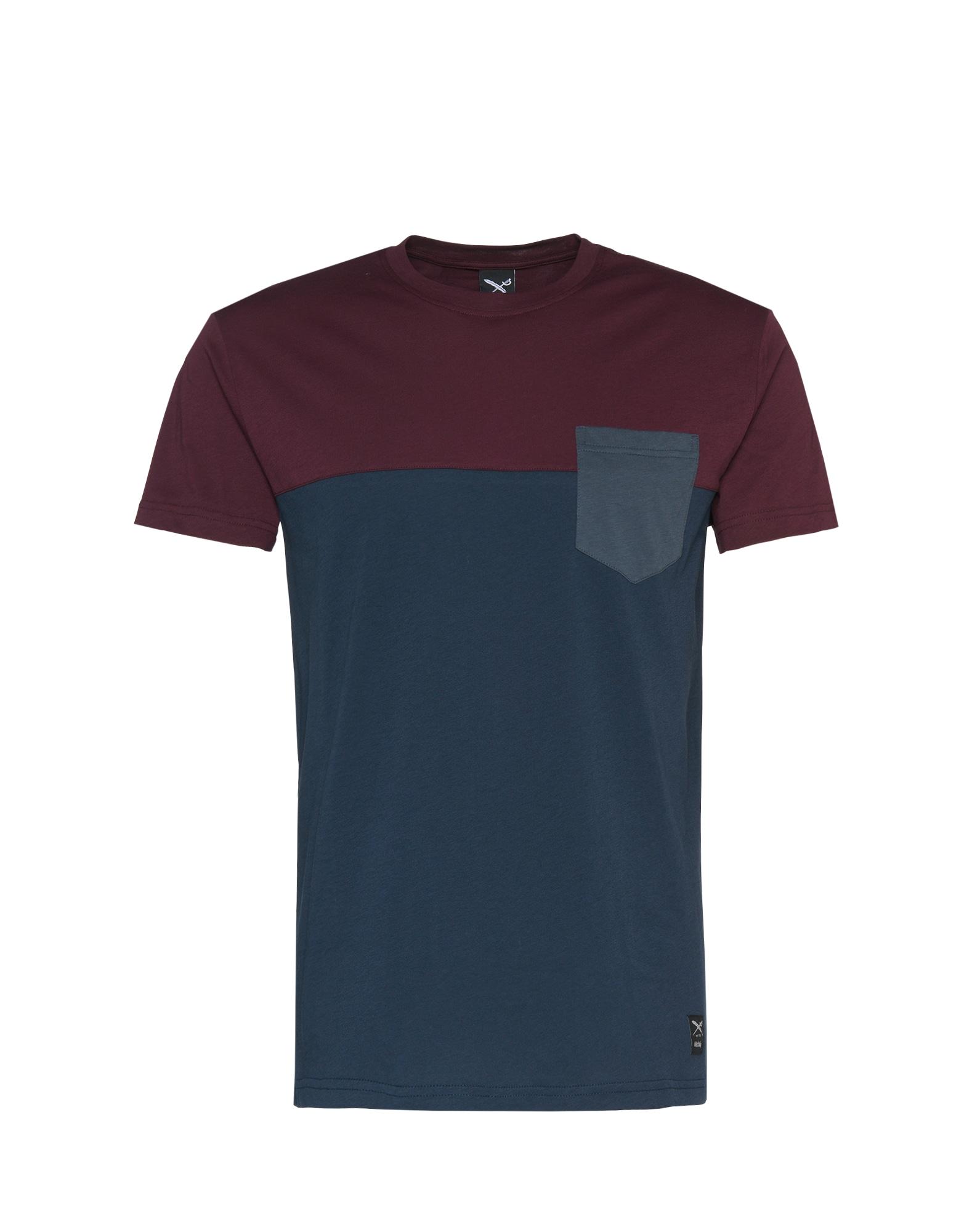 Tričko námořnická modř bordó Iriedaily