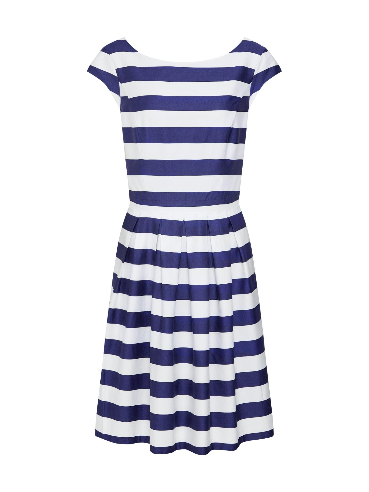 Šaty námořnická modř bílá S.Oliver RED LABEL