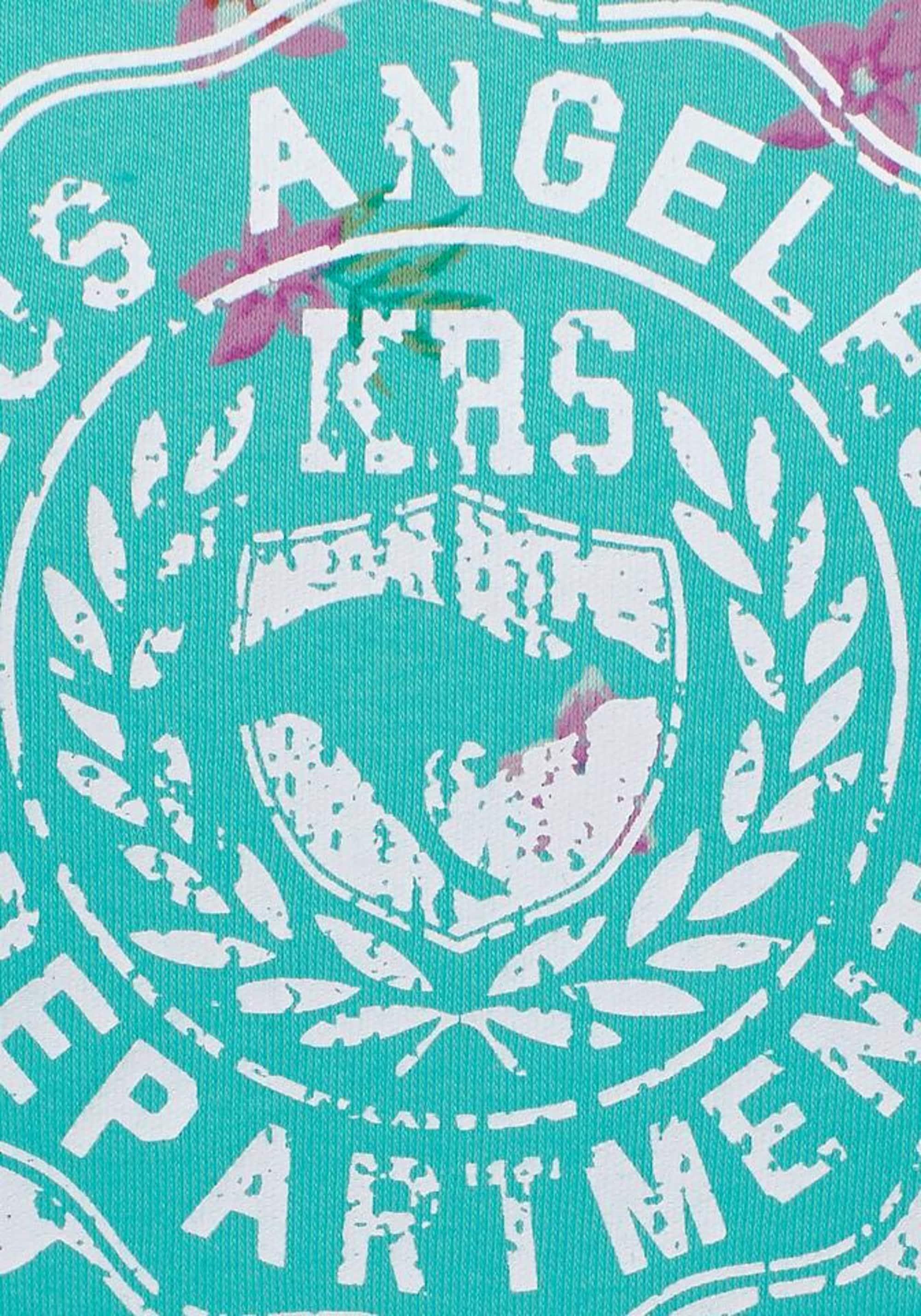 KangaROOS Bluzka sportowa  turkusowy / mieszane kolory / biały