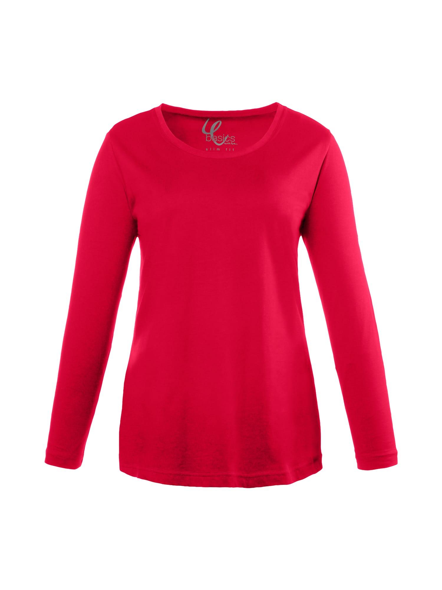 Tričko červená Ulla Popken