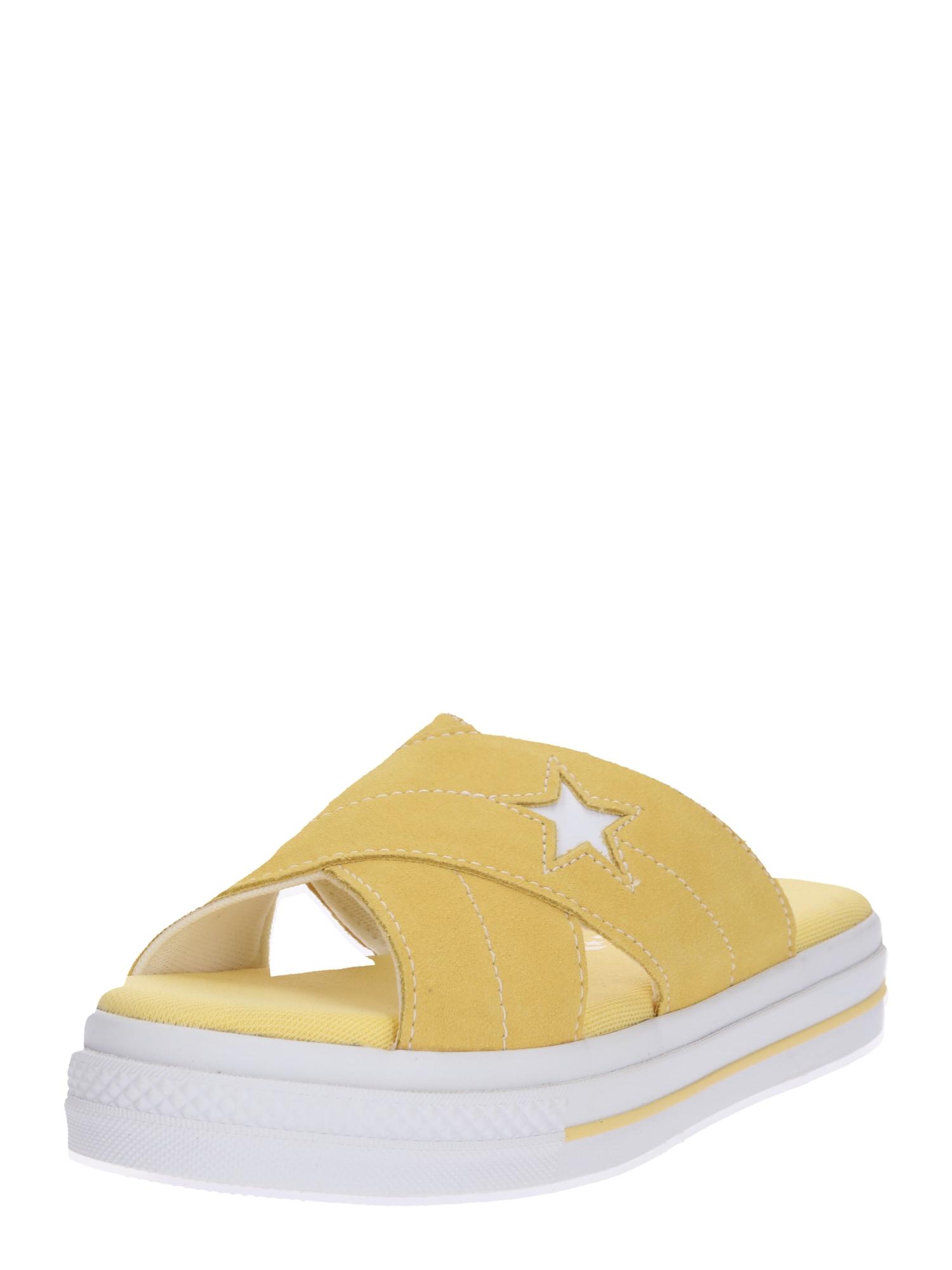 Pantofle ONE STAR žlutá bílá CONVERSE