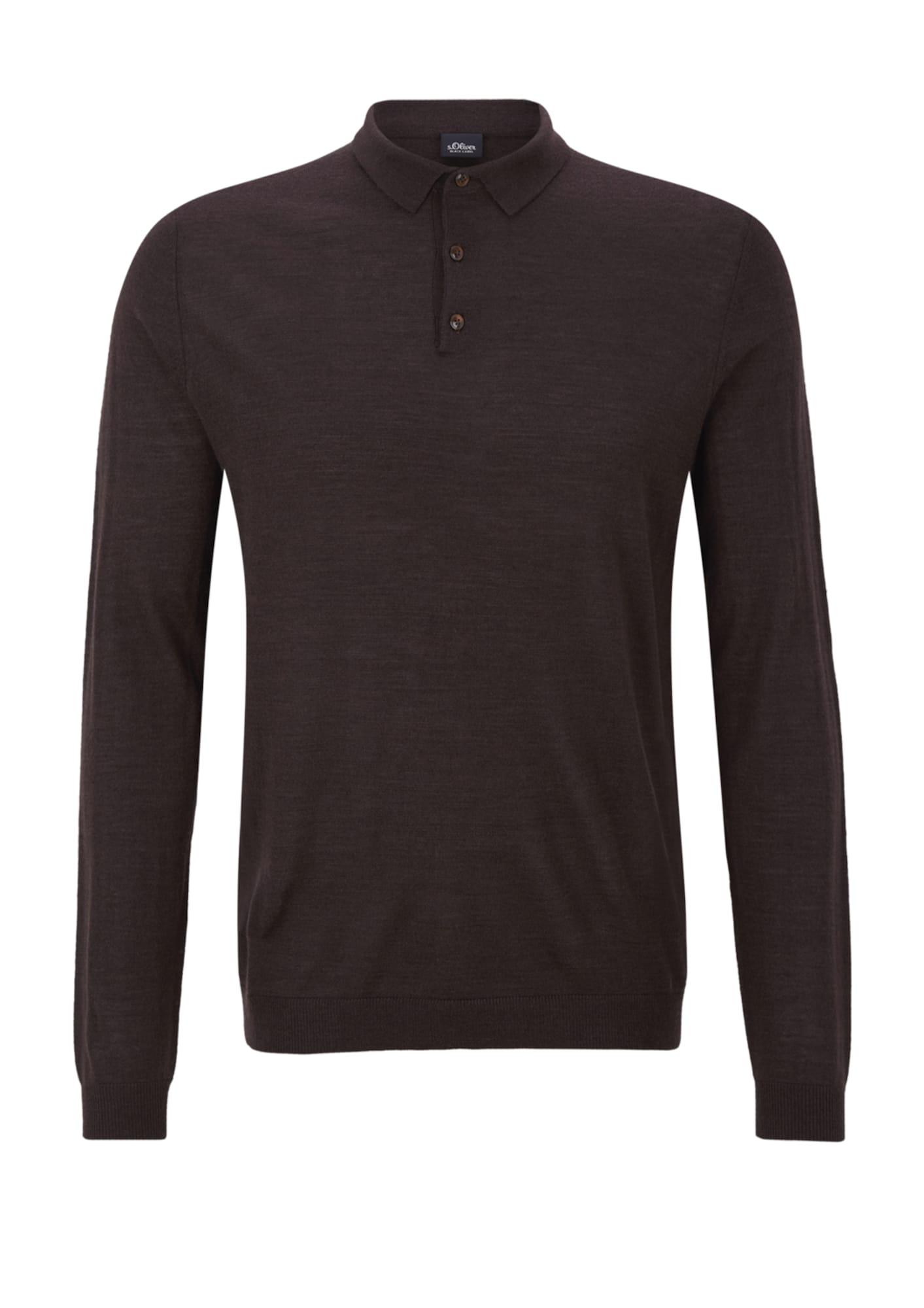 Pullover | Bekleidung > Pullover > Sonstige Pullover | Dunkelbraun | S.Oliver BLACK LABEL