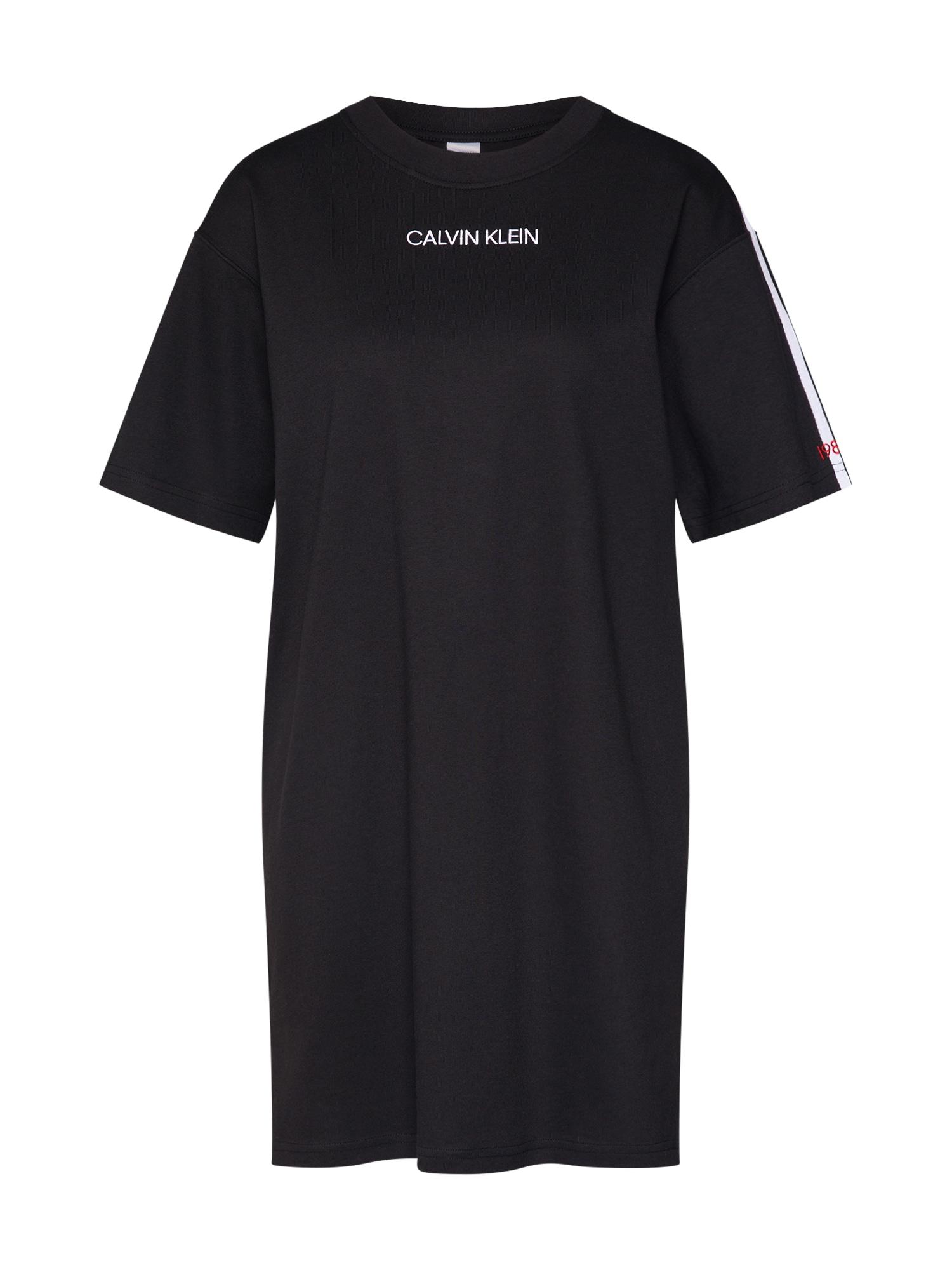 Noční košilka černá Calvin Klein Underwear