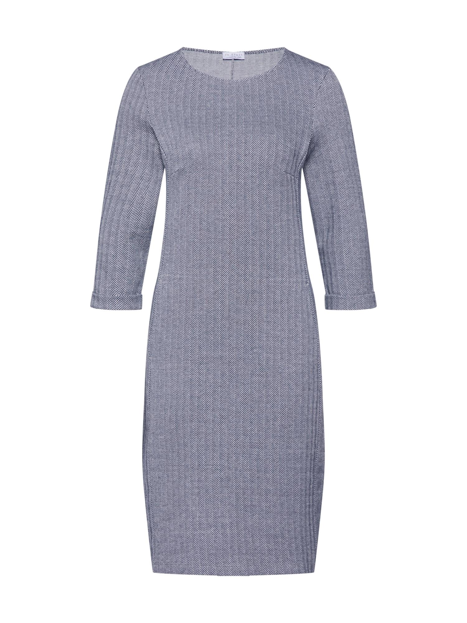 Úpletové šaty tmavě modrá Re.draft