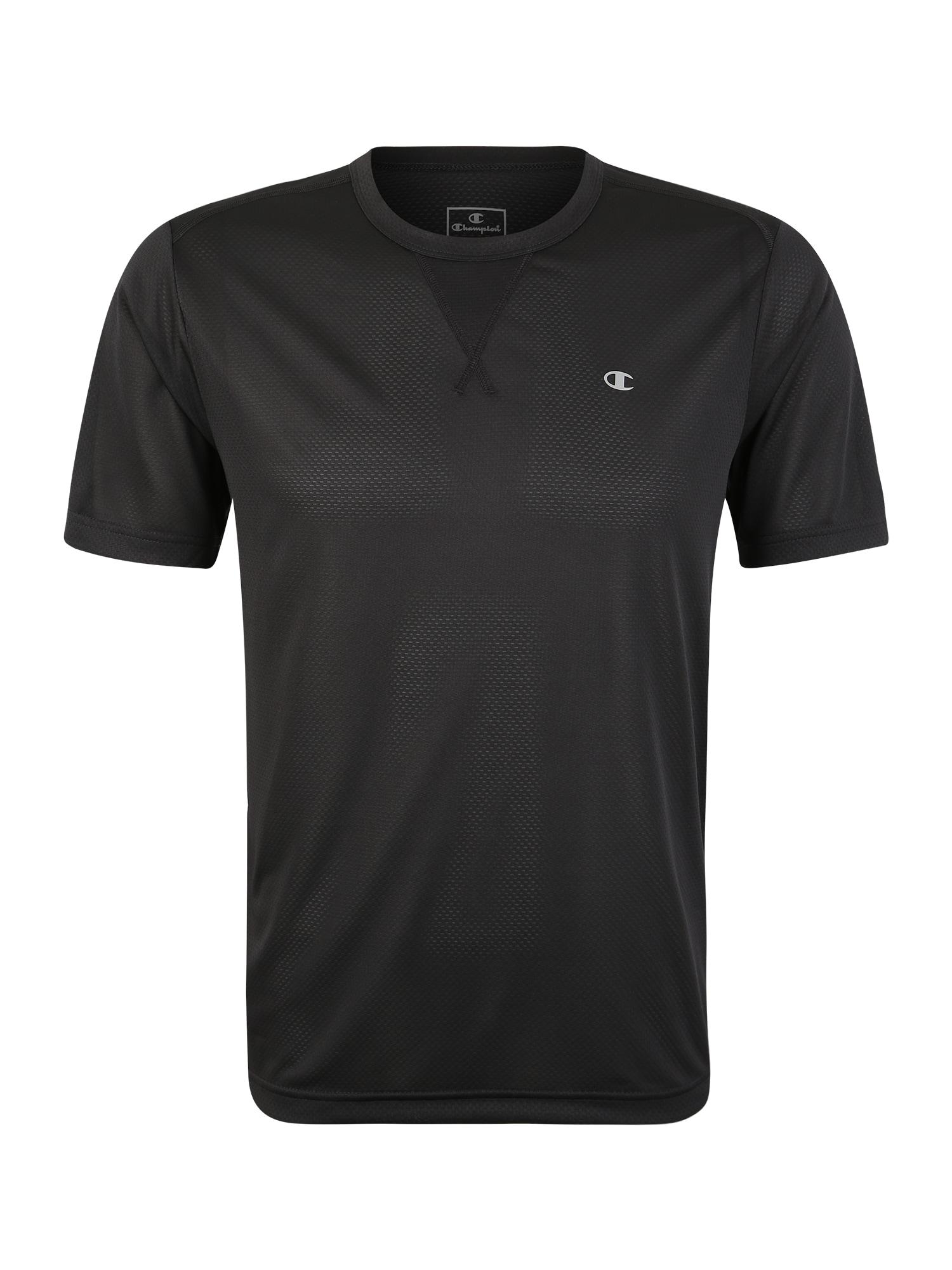 Funkční tričko Crewneck T-Shirt černá Champion Authentic Athletic Apparel