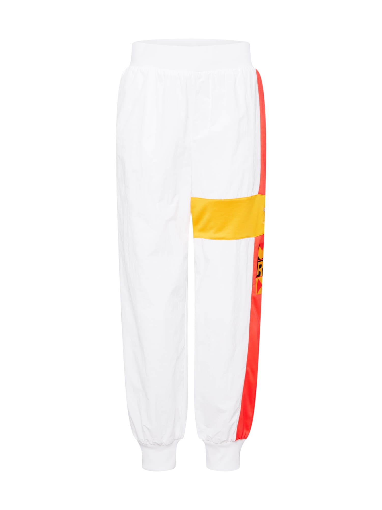 Kalhoty Gigi Track Pants žlutá tmavě oranžová černá bílá Reebok Classic