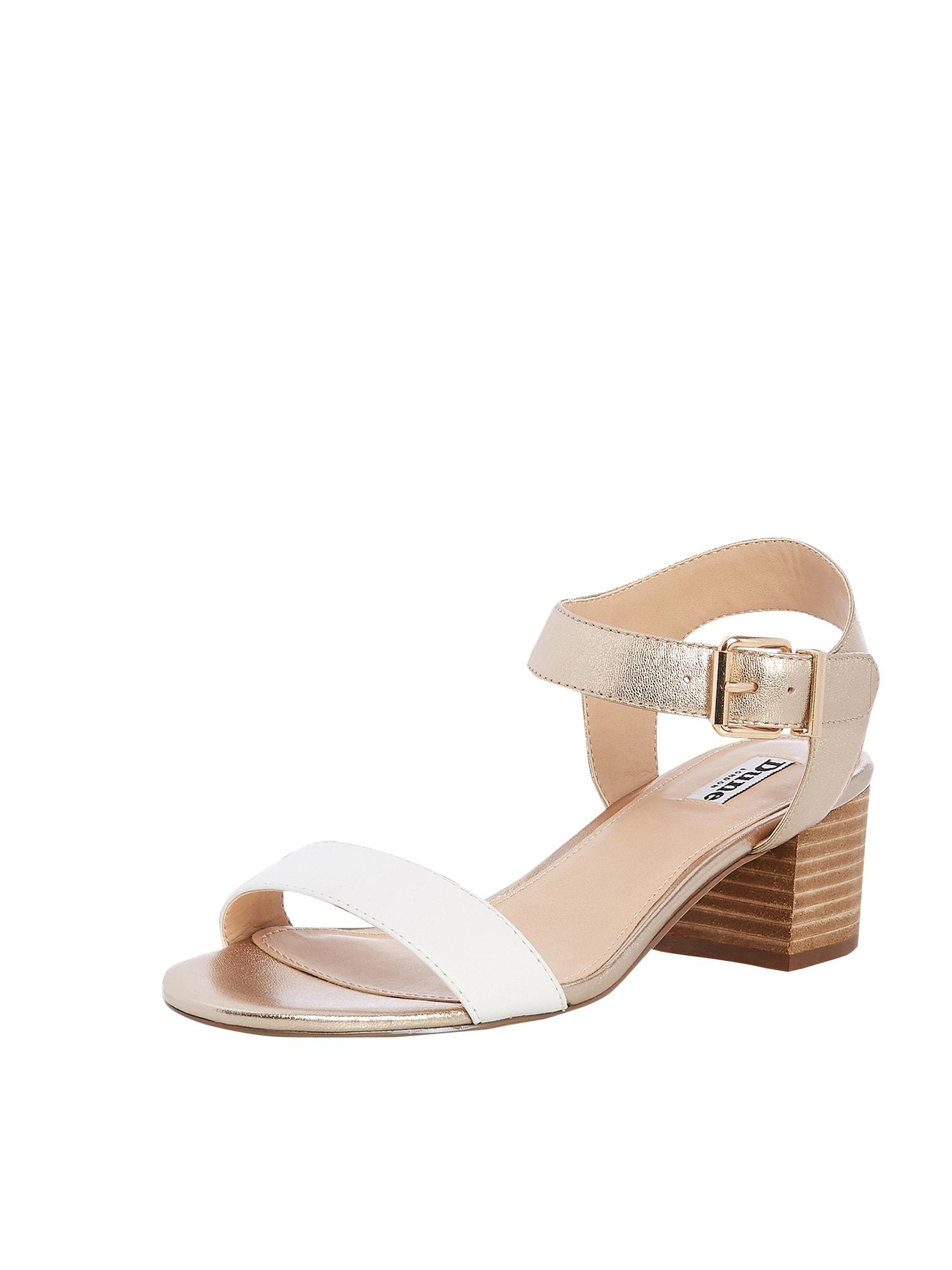 Páskové sandály IZZI bílá Dune LONDON