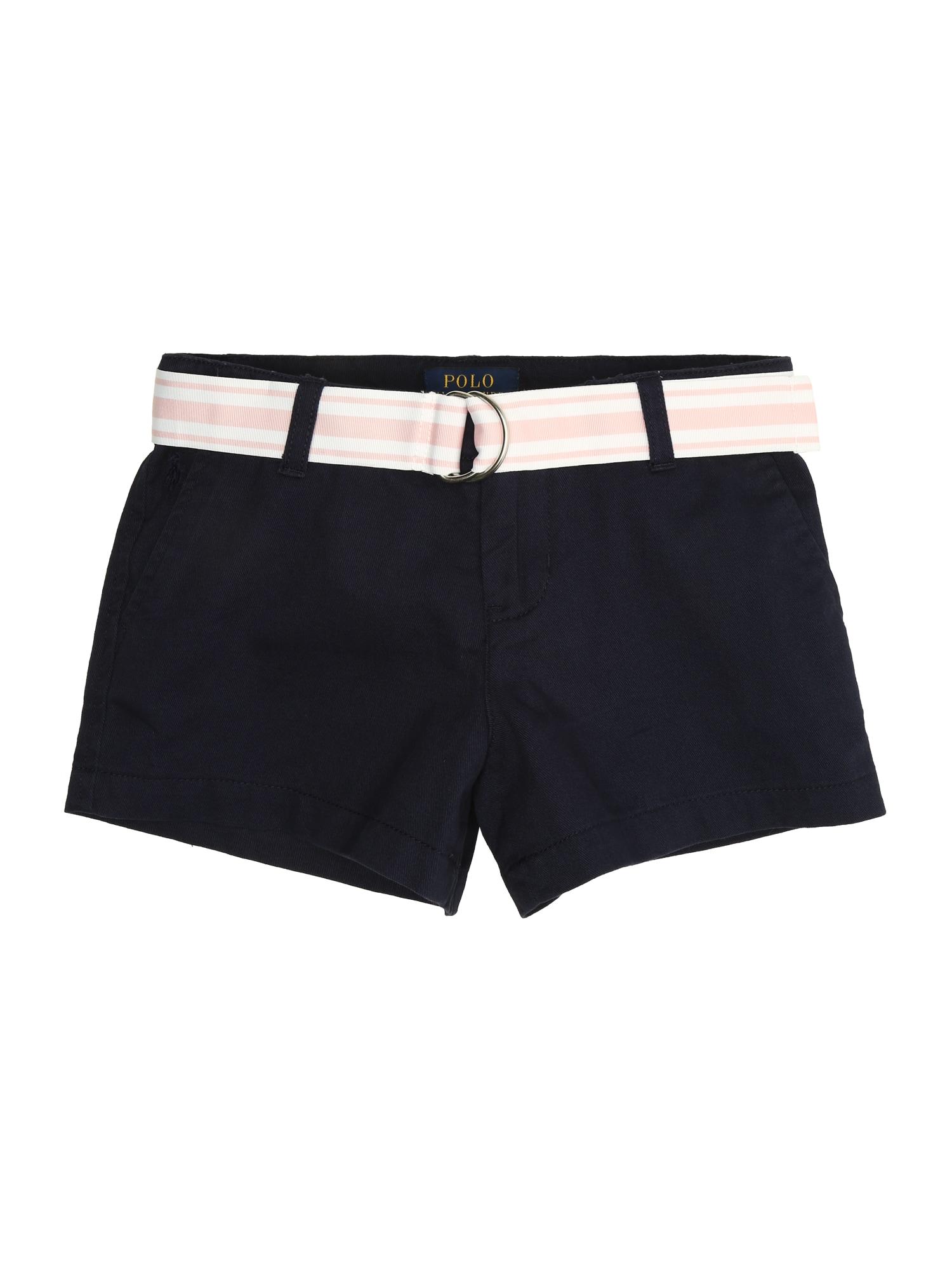 Kalhoty LT WT TISSUE CHINO-CHINO SHORT-BT-SHO námořnická modř POLO RALPH LAUREN