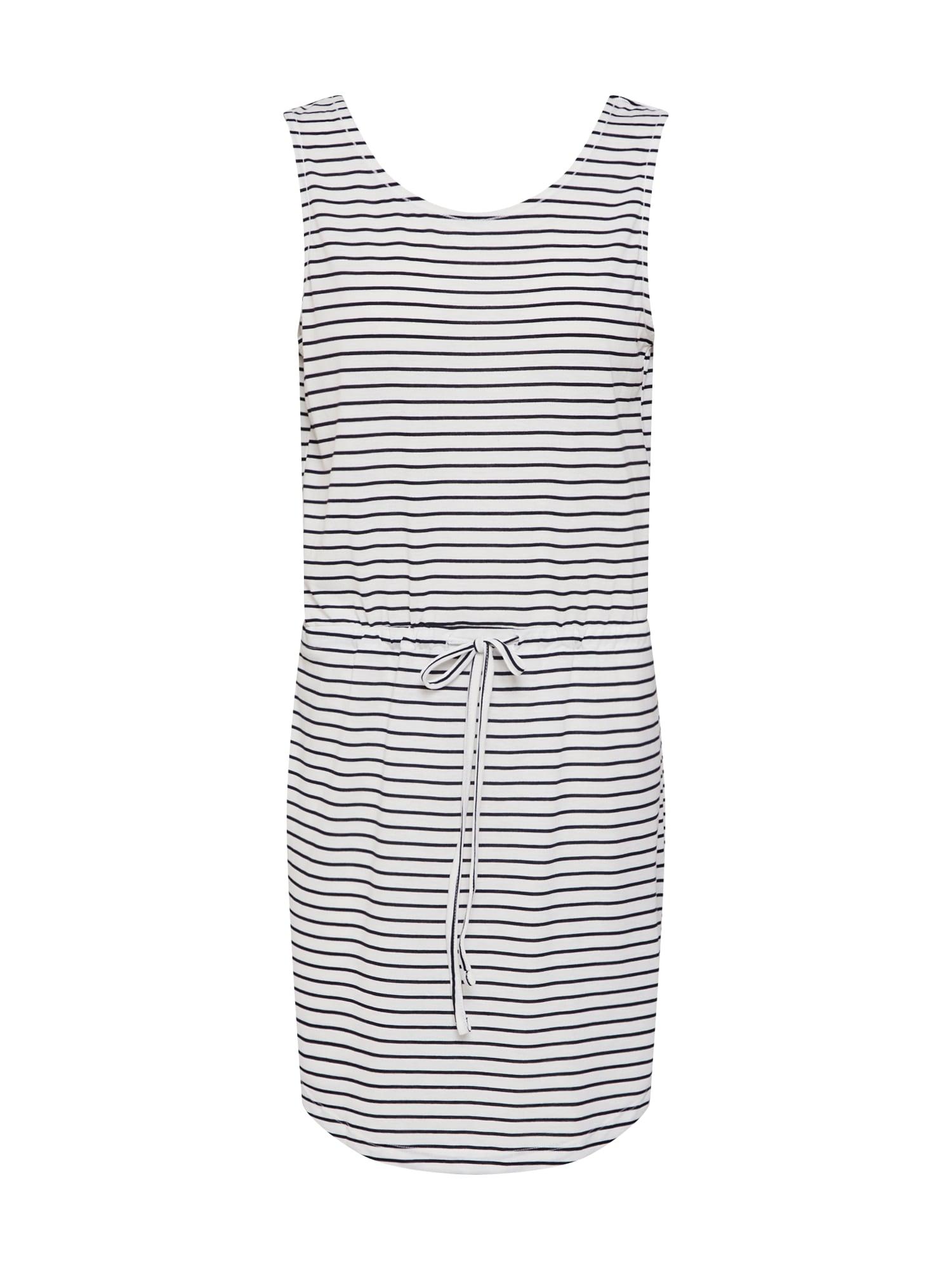 Plážové šaty BATISTA černá bílá PIECES
