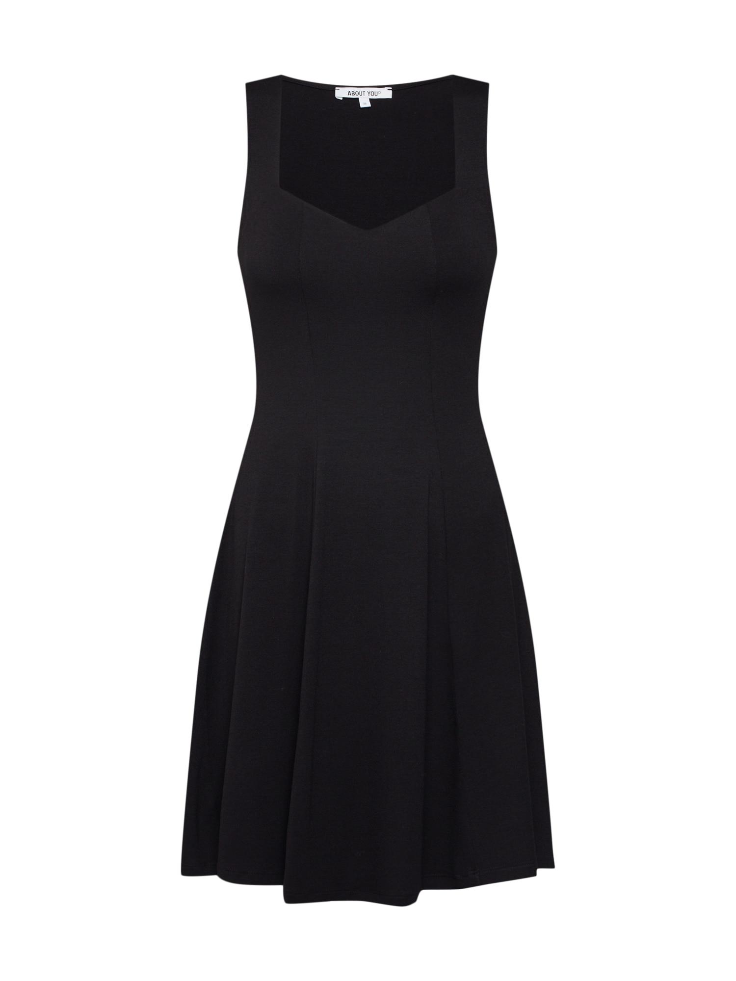 Šaty Floria černá ABOUT YOU