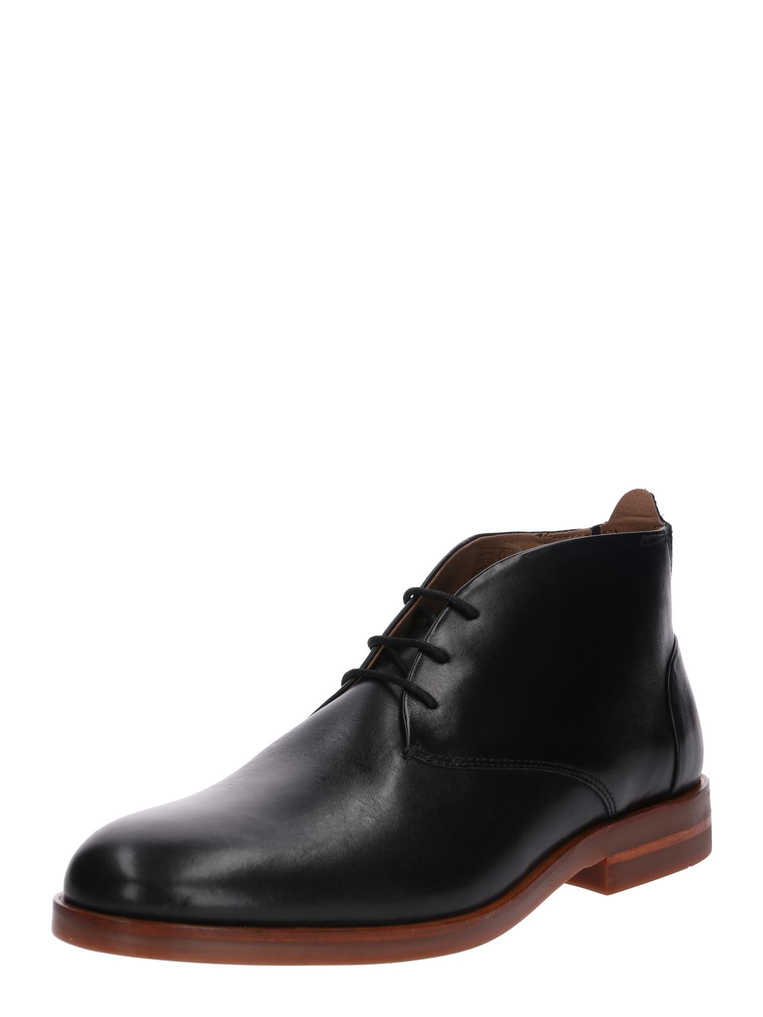 Šněrovací boty Bedlington černá Hudson London