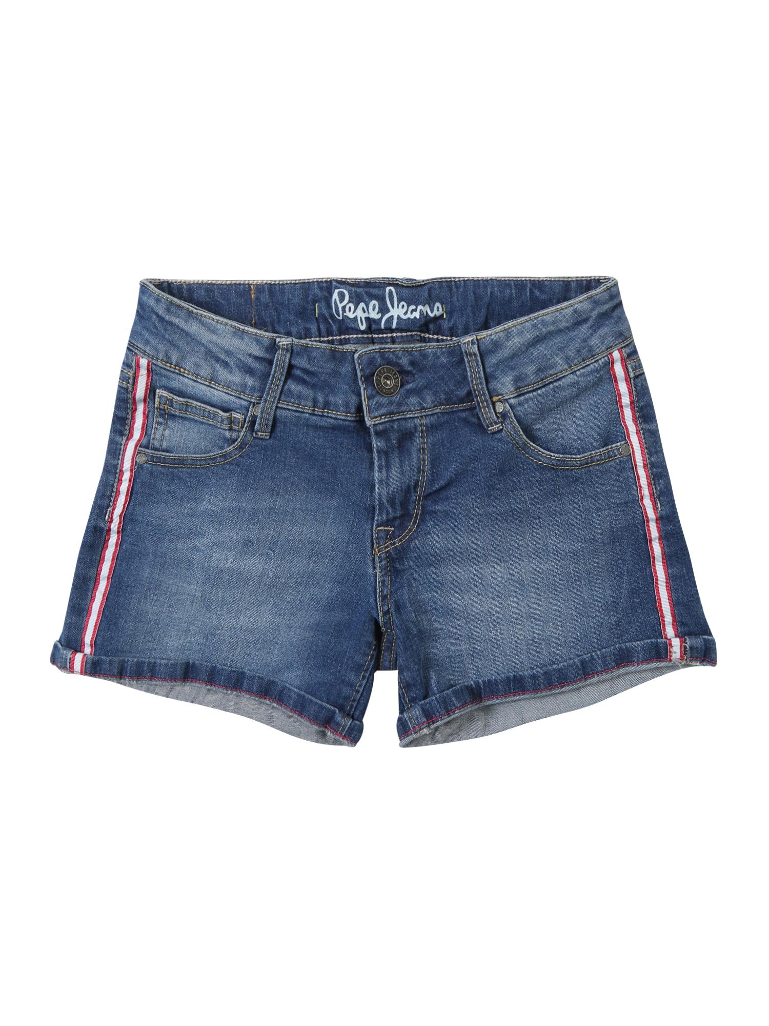 Džíny FOXTAIL RIBBON modrá džínovina Pepe Jeans