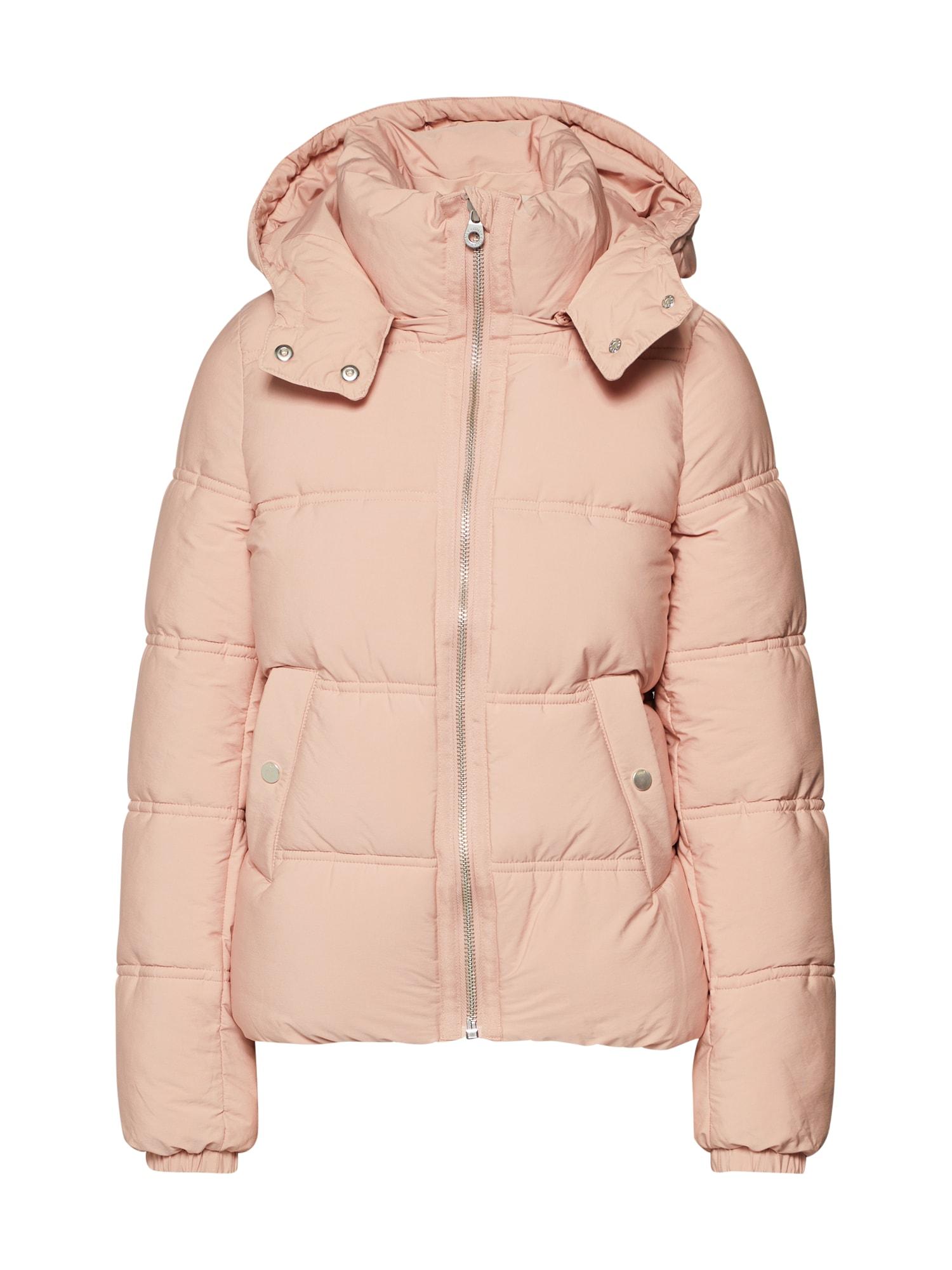 Zimní bunda růžová ONLY