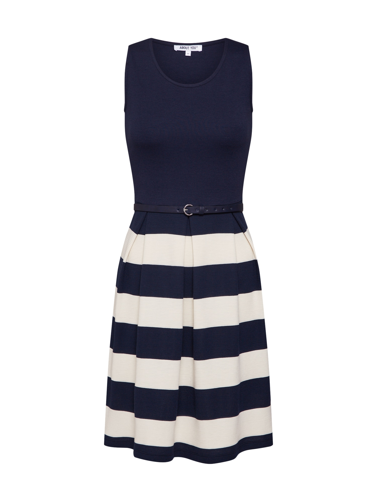 ABOUT YOU Jurk 'Ilona' navy / wit
