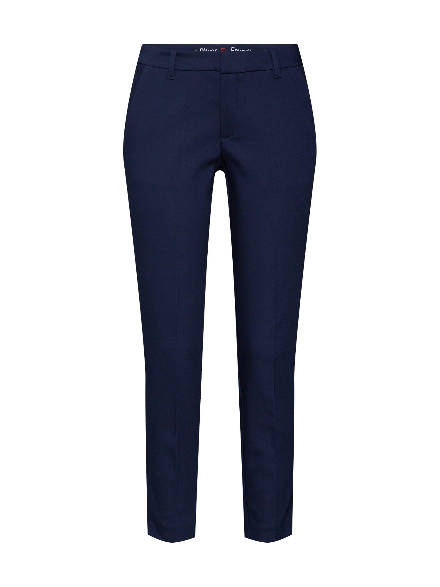 Kalhoty s puky námořnická modř S.Oliver RED LABEL