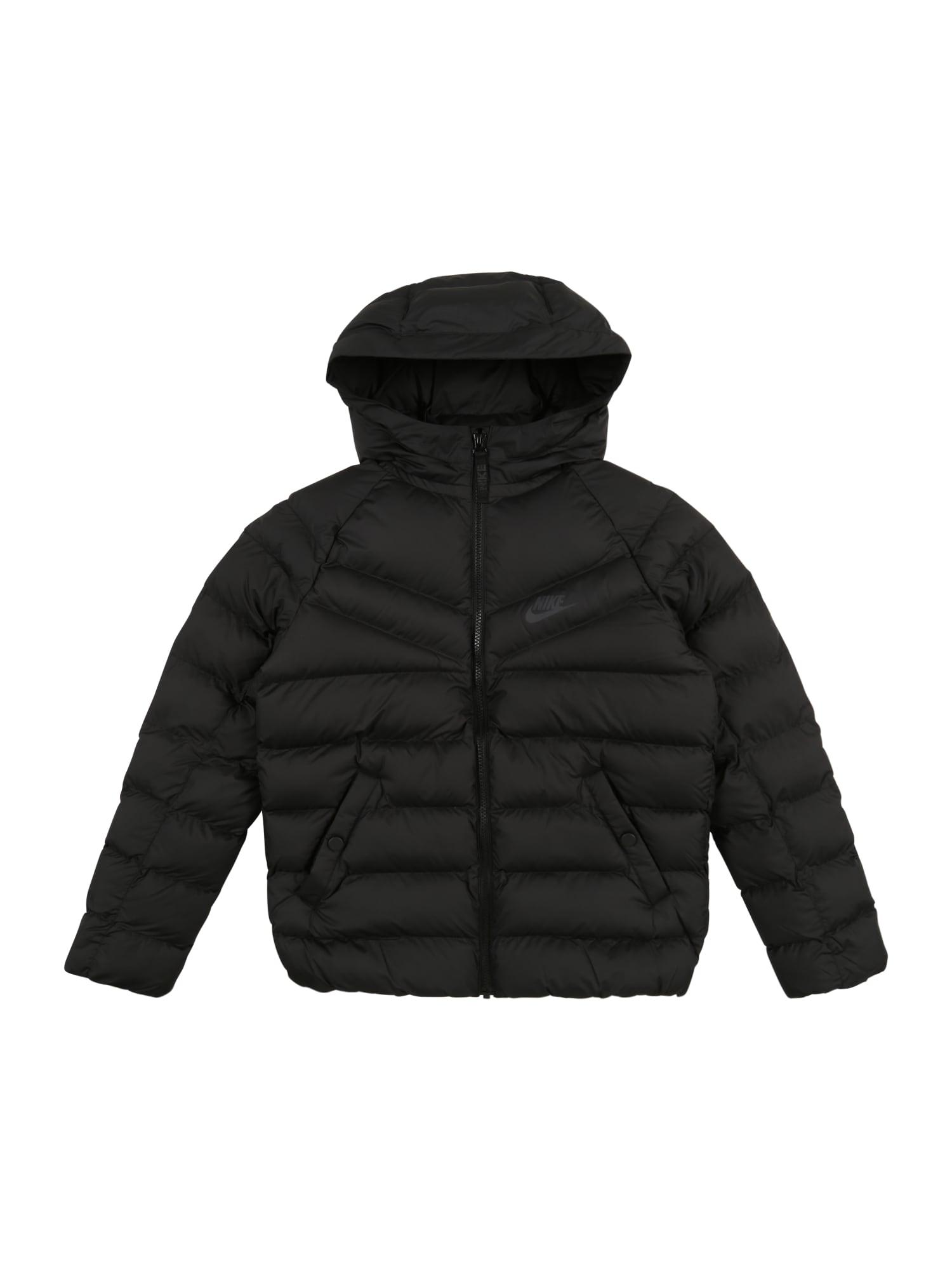 Přechodná bunda černá Nike Sportswear