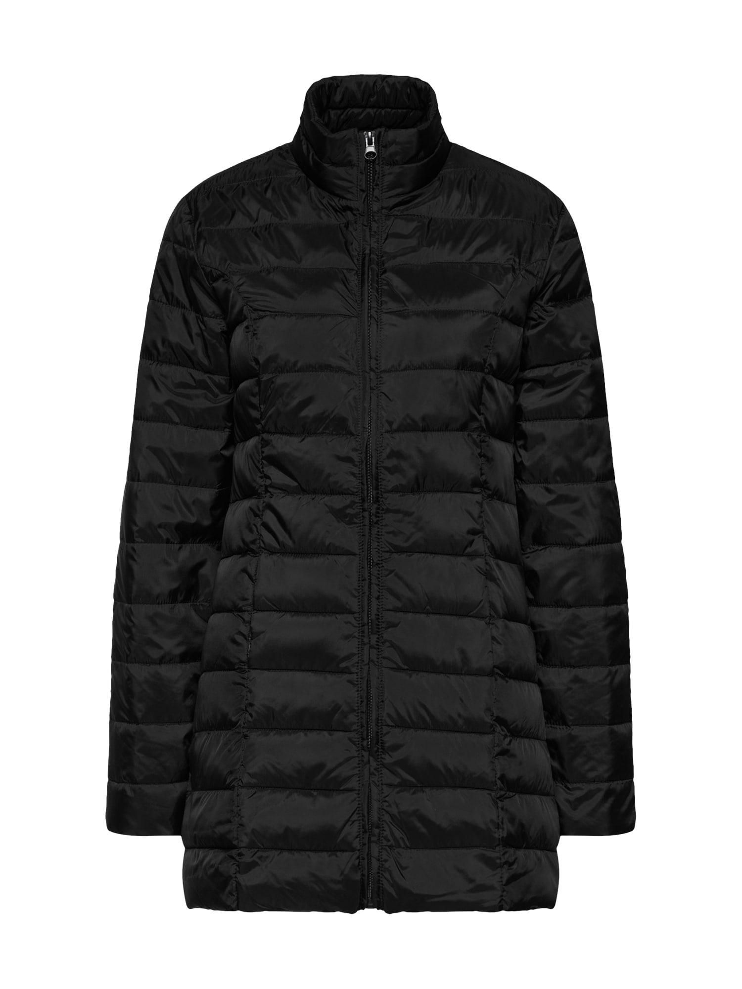 Přechodný kabát černá JACQUELINE De YONG