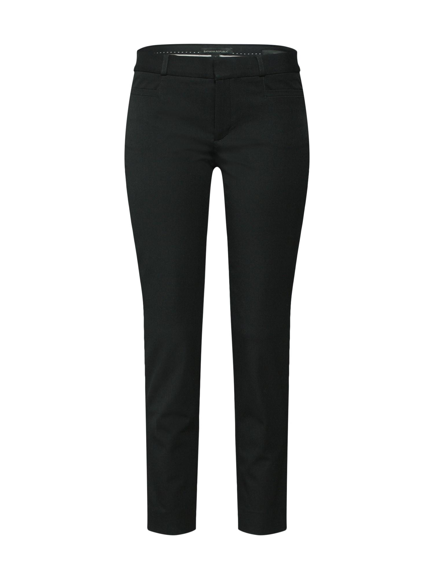 Chino kalhoty Sloan Solids černá Banana Republic