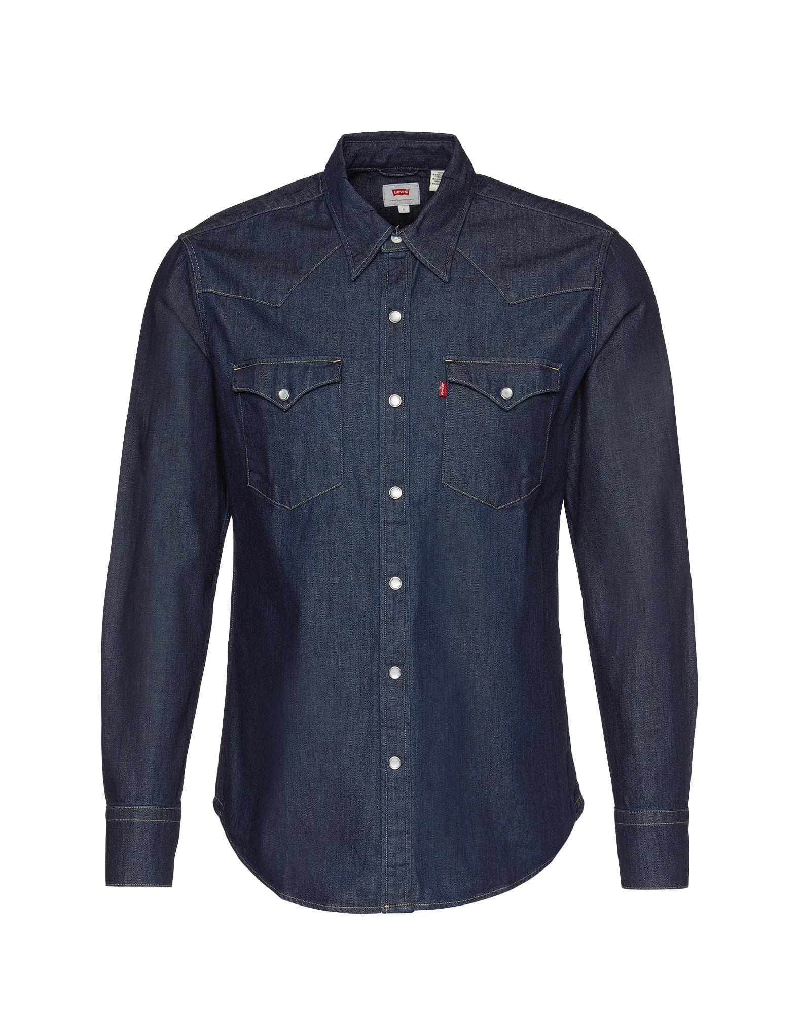 LEVIS Košile Barstow Western tmavě modrá LEVI'S