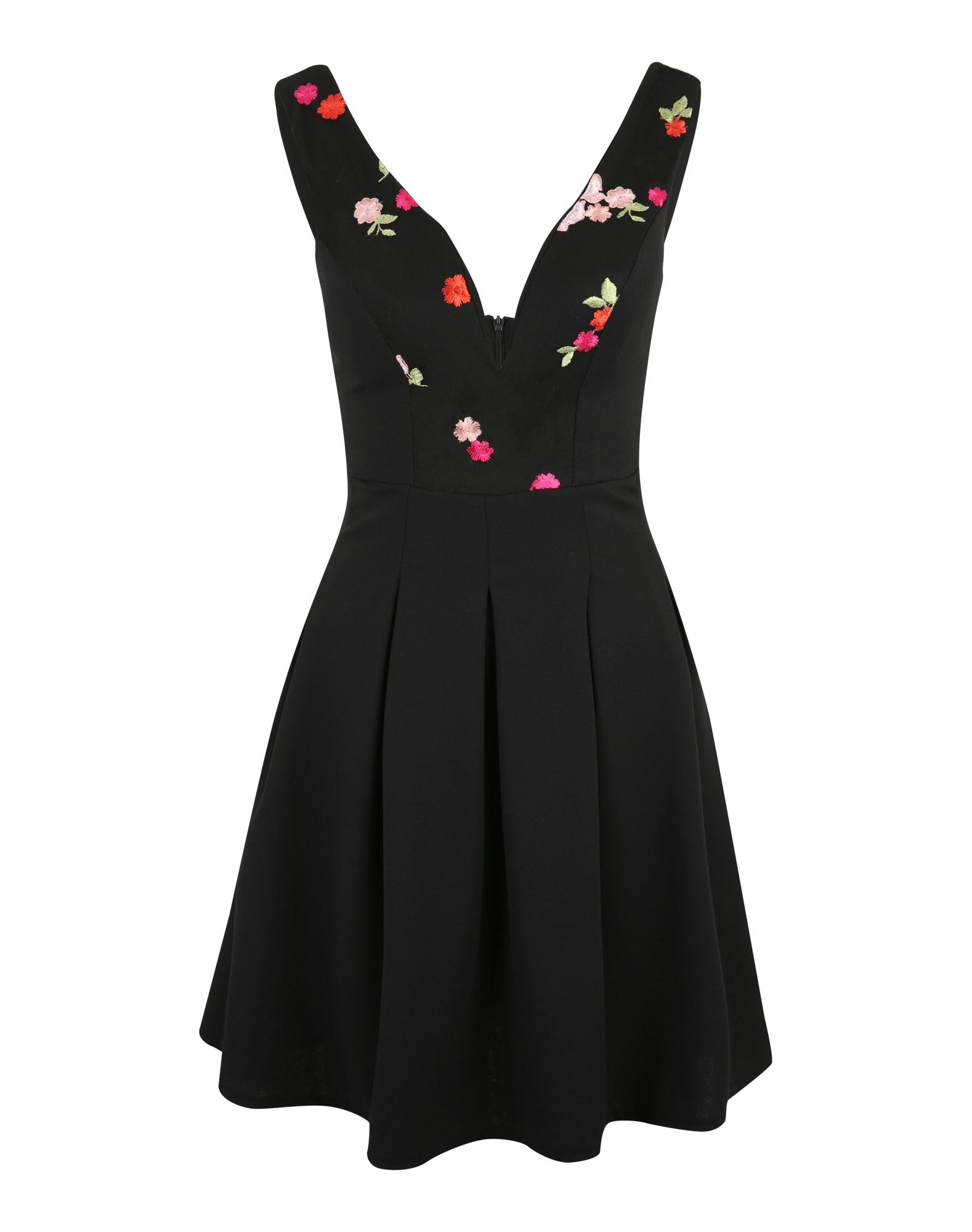 Koktejlové šaty světle zelená růžová tmavě růžová černá WAL G.
