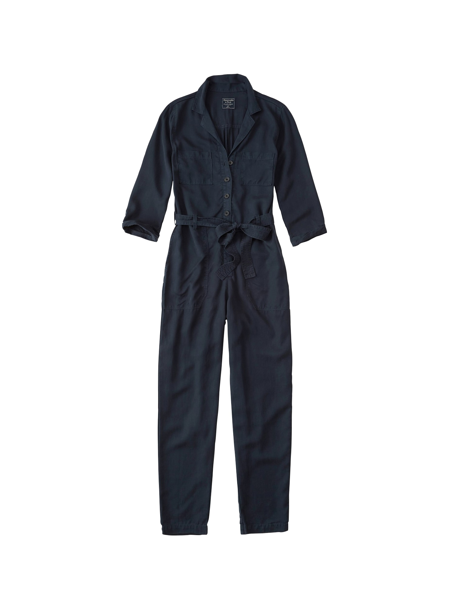 Overal UTILITY BOILERSUIT navy Abercrombie & Fitch