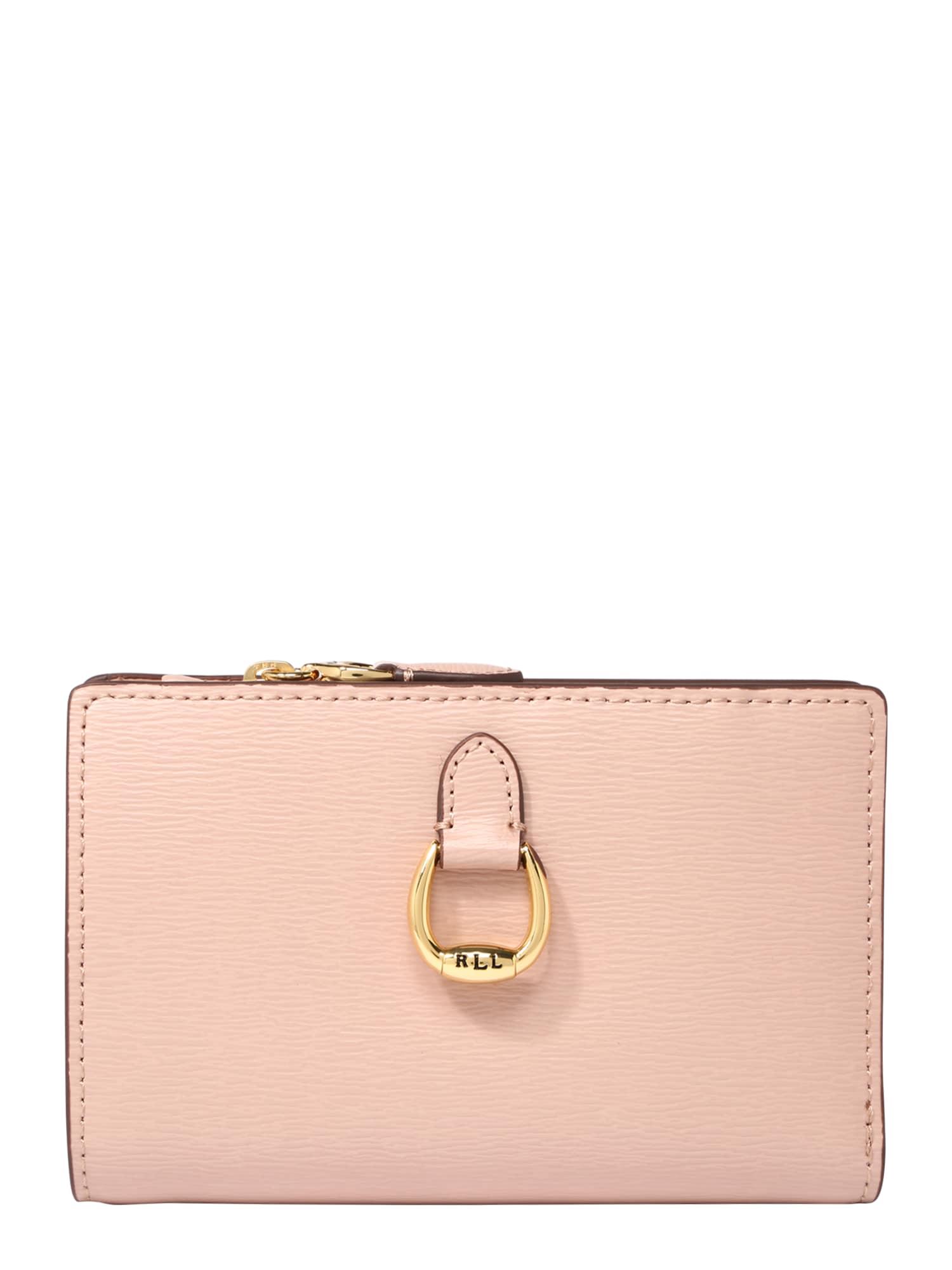 Peněženka růžová Lauren Ralph Lauren