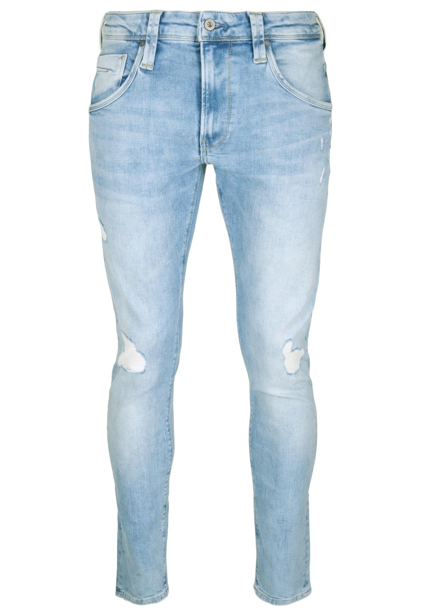 Pepe Jeans Heren Jeans ZINC blauw