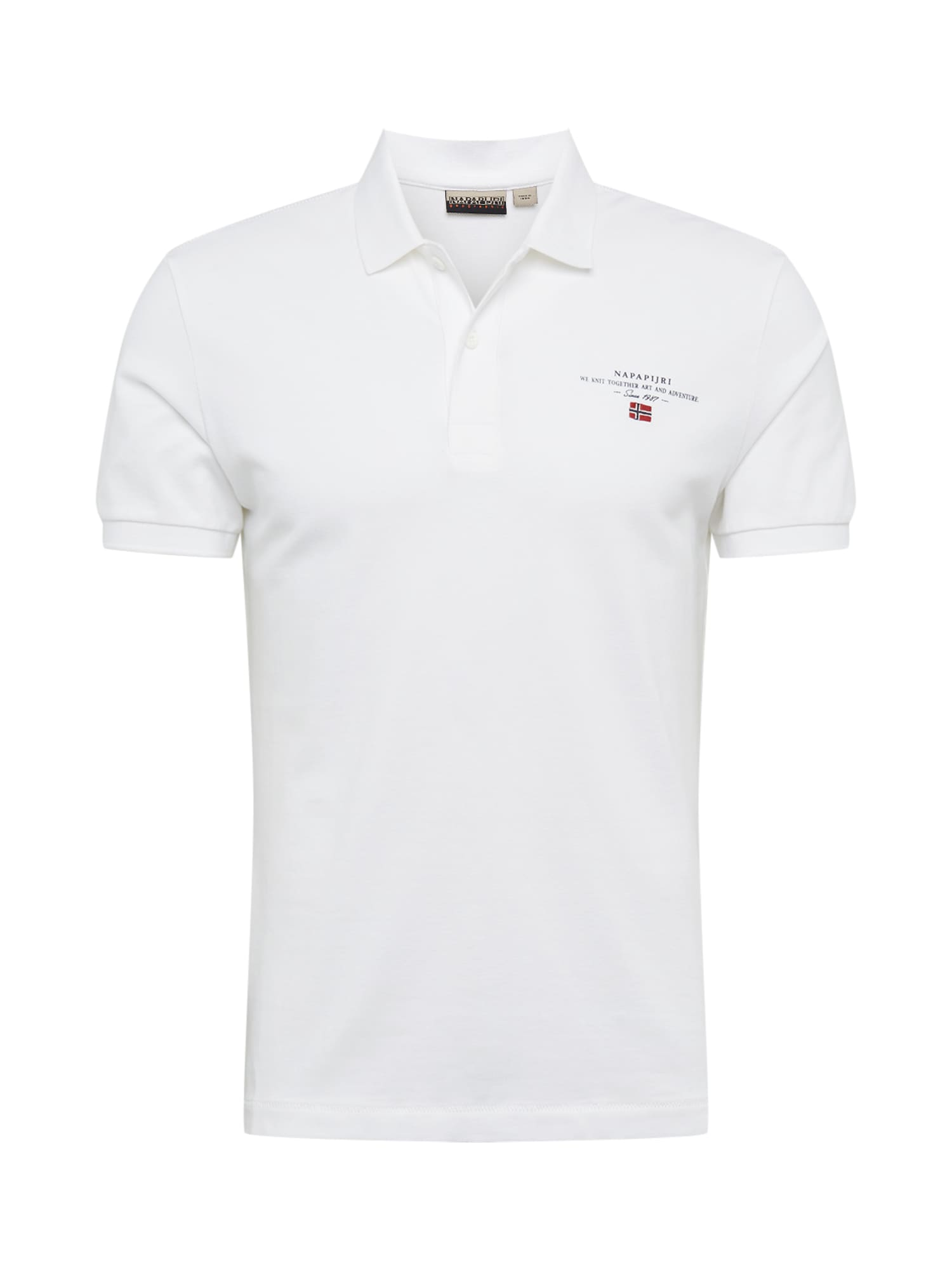 NAPAPIJRI Tričko 'ELBAS 3'  bílá