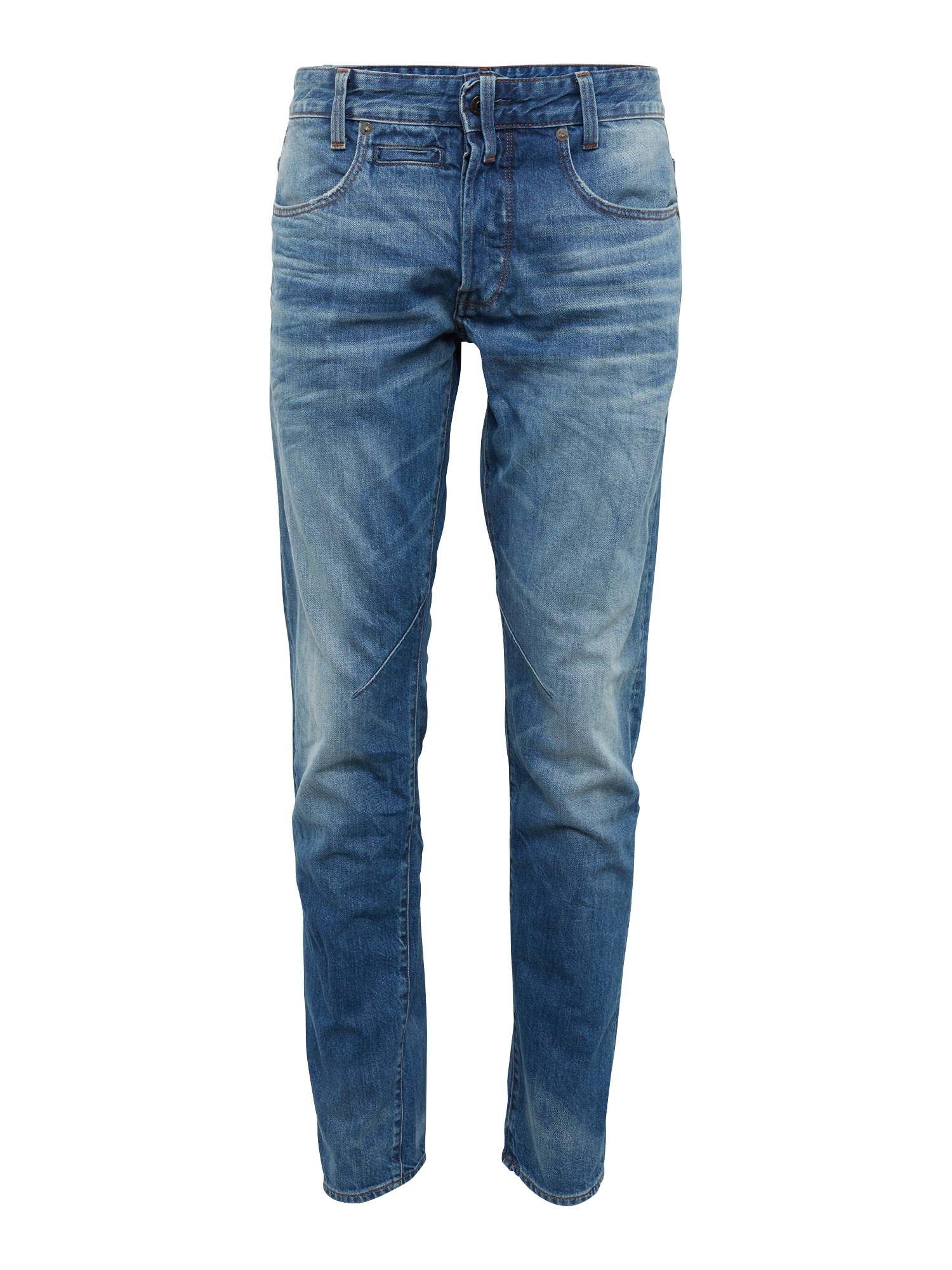 G-STAR RAW Heren Jeans D-Staq 5-pkt Tapered blue denim