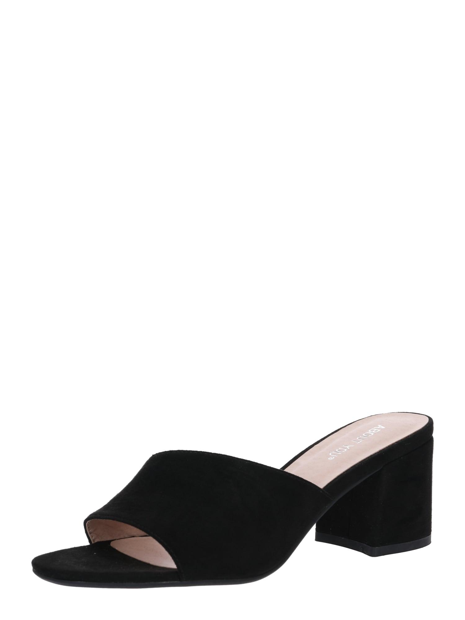 Pantofle Cecilia černá ABOUT YOU