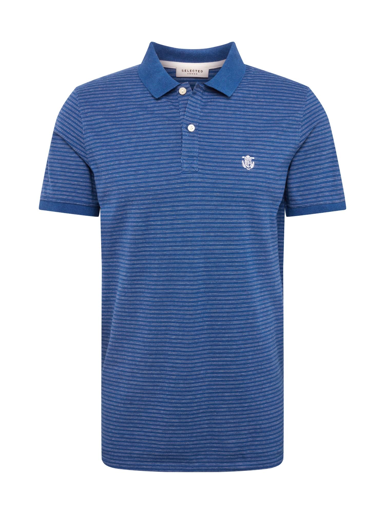 Tričko námořnická modř SELECTED HOMME