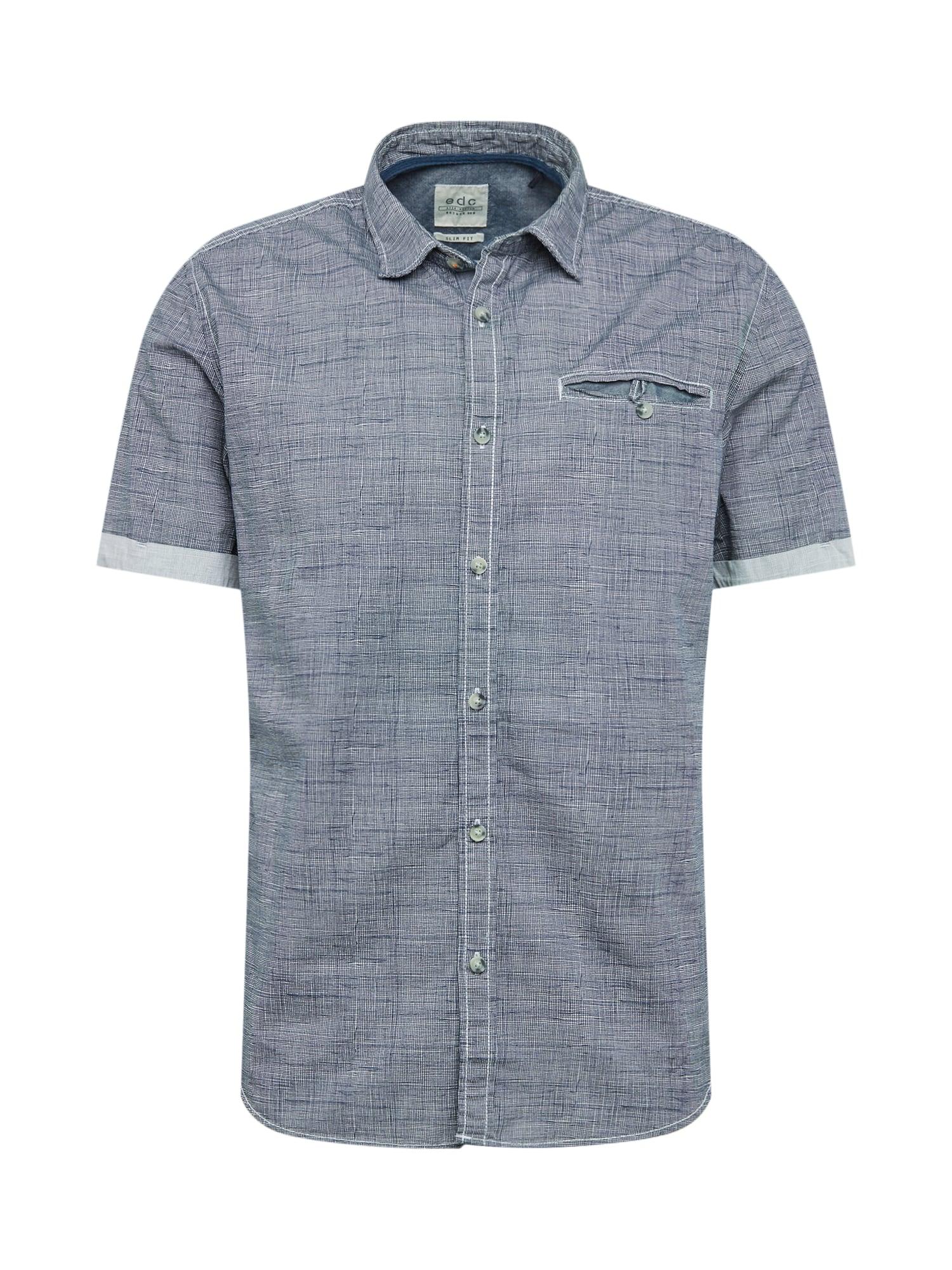 Košile noční modrá bílá EDC BY ESPRIT