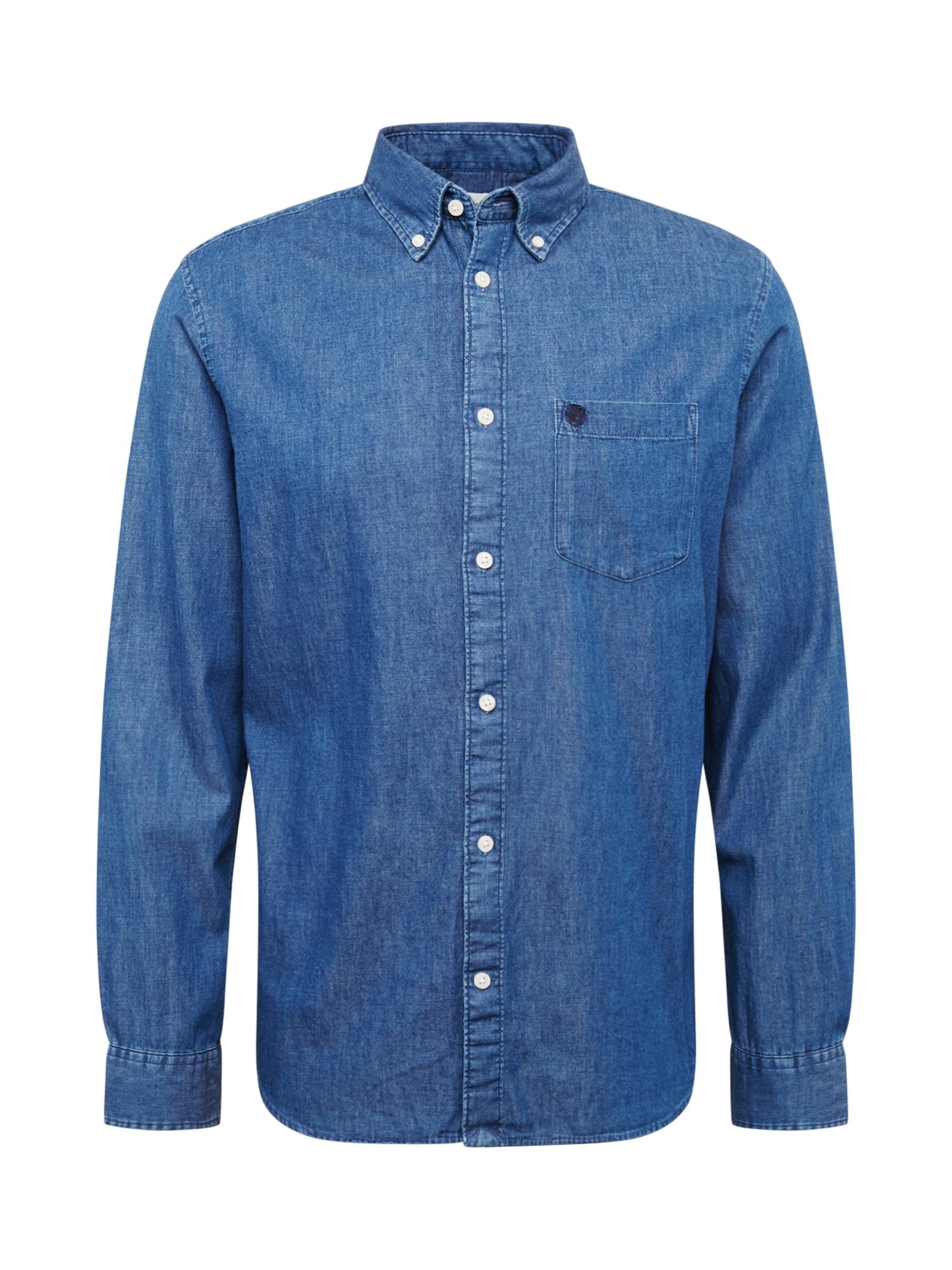 Košile Collect modrá džínovina SELECTED HOMME
