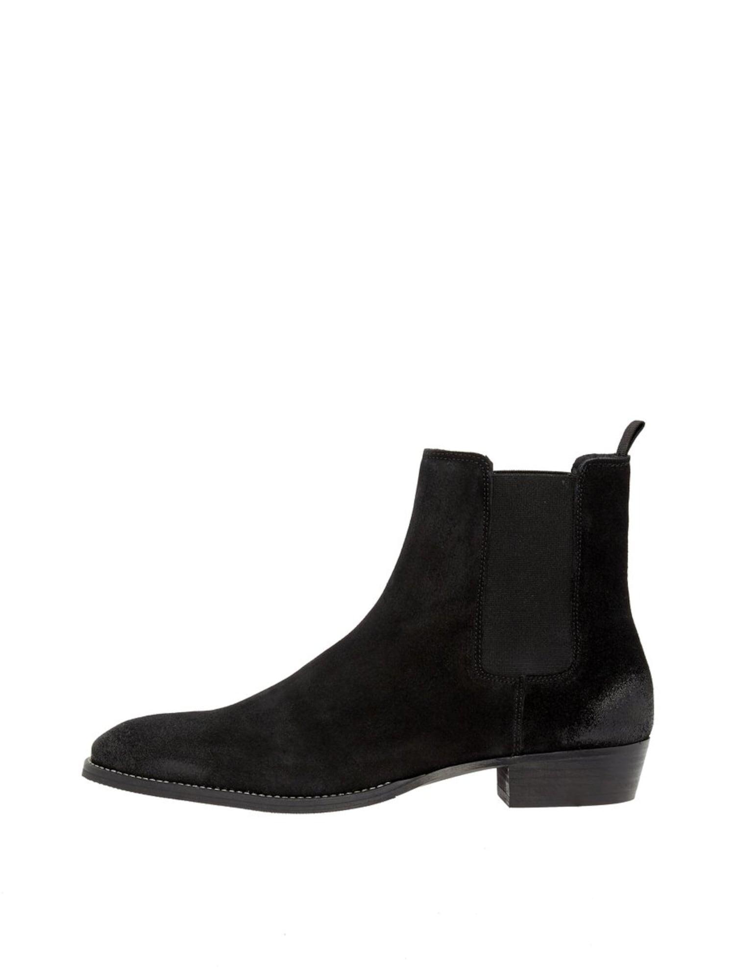 Stiefeletten 'Beack' | Schuhe > Boots > Stiefel | Schwarz | Bianco