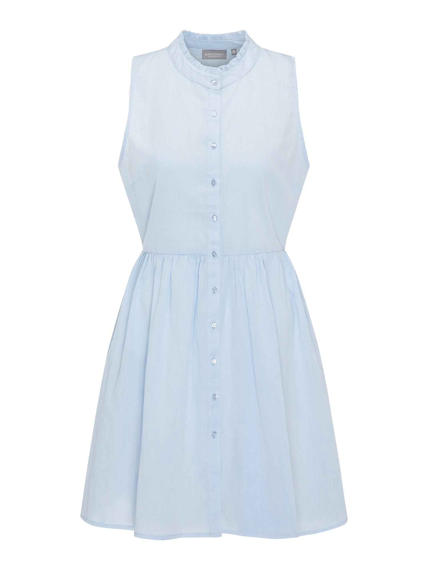 Letní šaty ROZELLA světlemodrá BROADWAY NYC FASHION